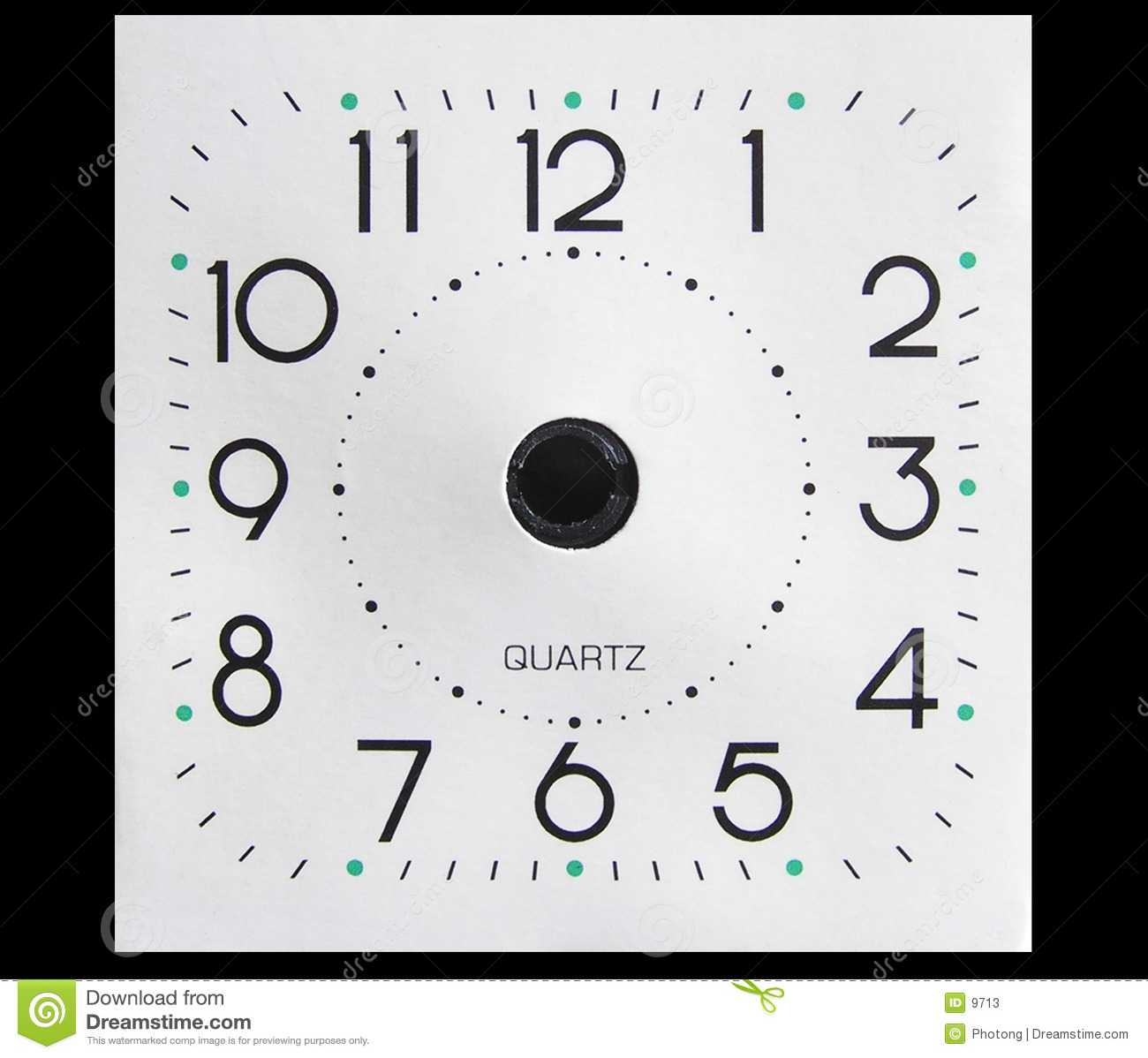 Clock face without hands stock image. Image of alarm
