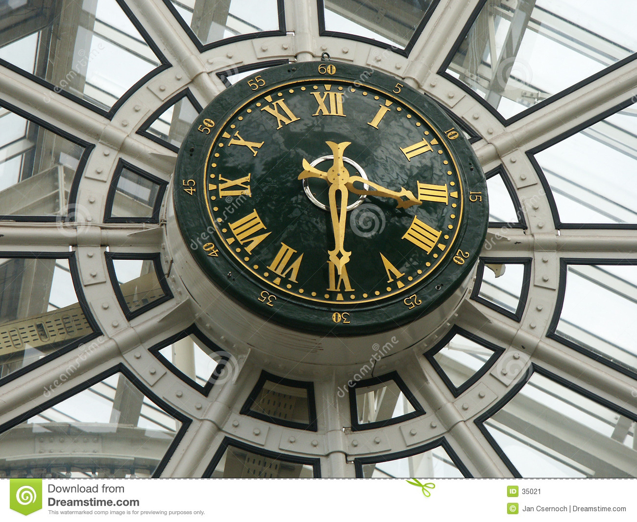 Clock galleriashopping