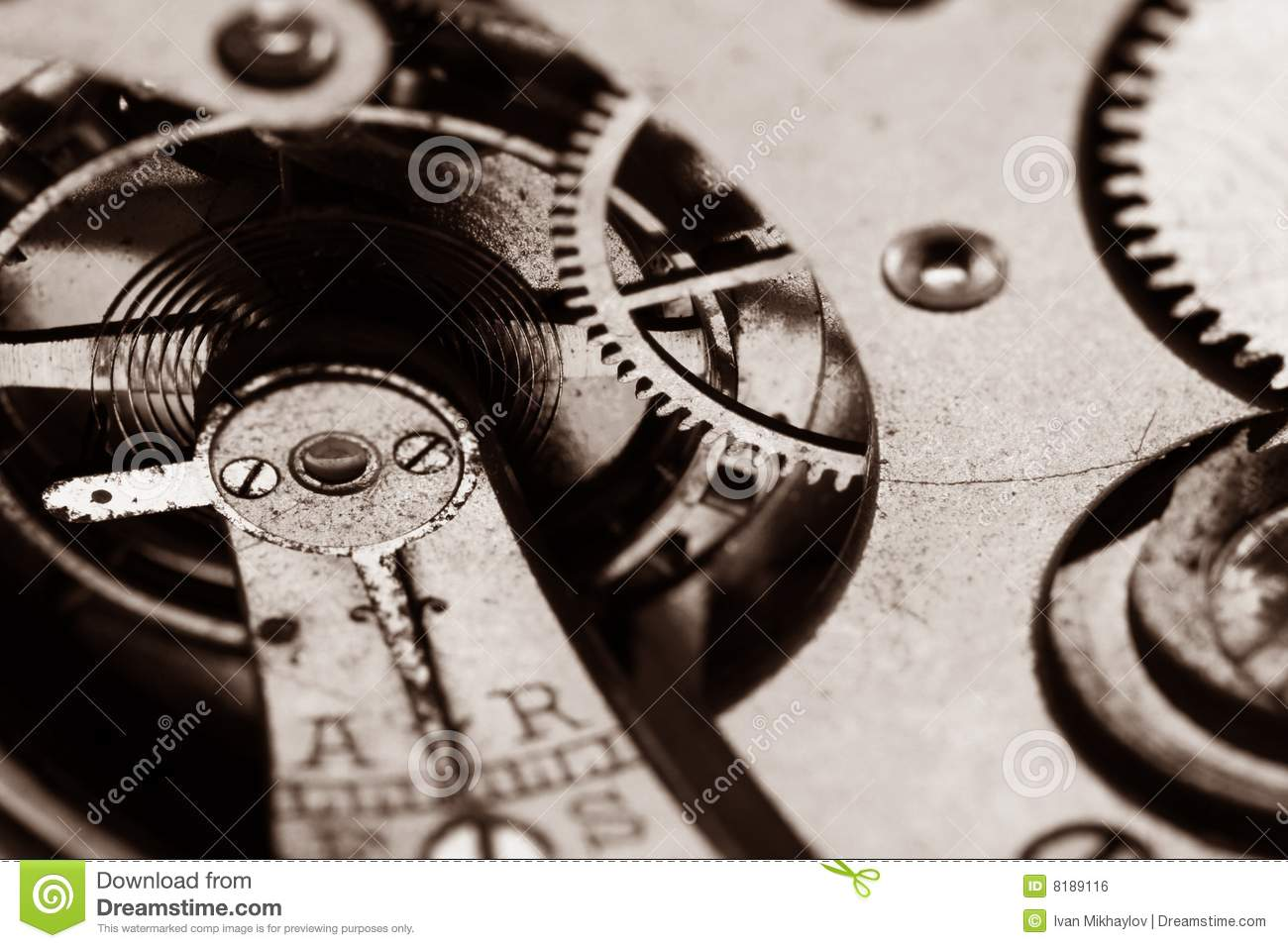 Clock Gear Royalty Free Stock Image Image 8189116