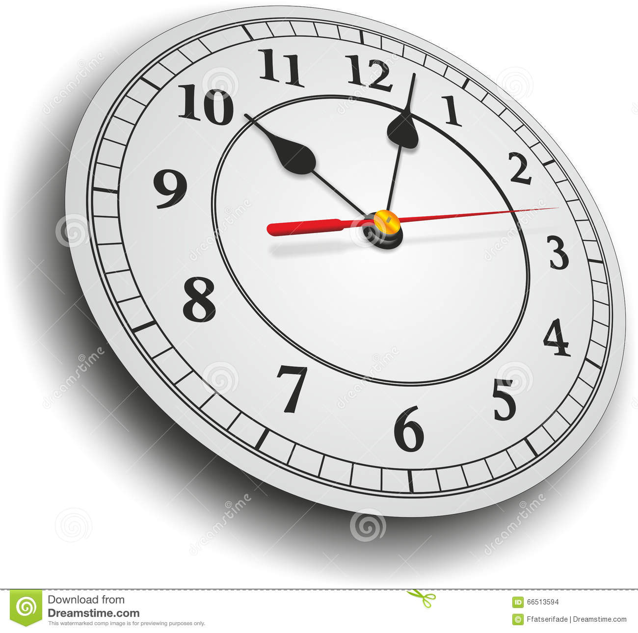 clock with hands stock photo image of late template 66513594