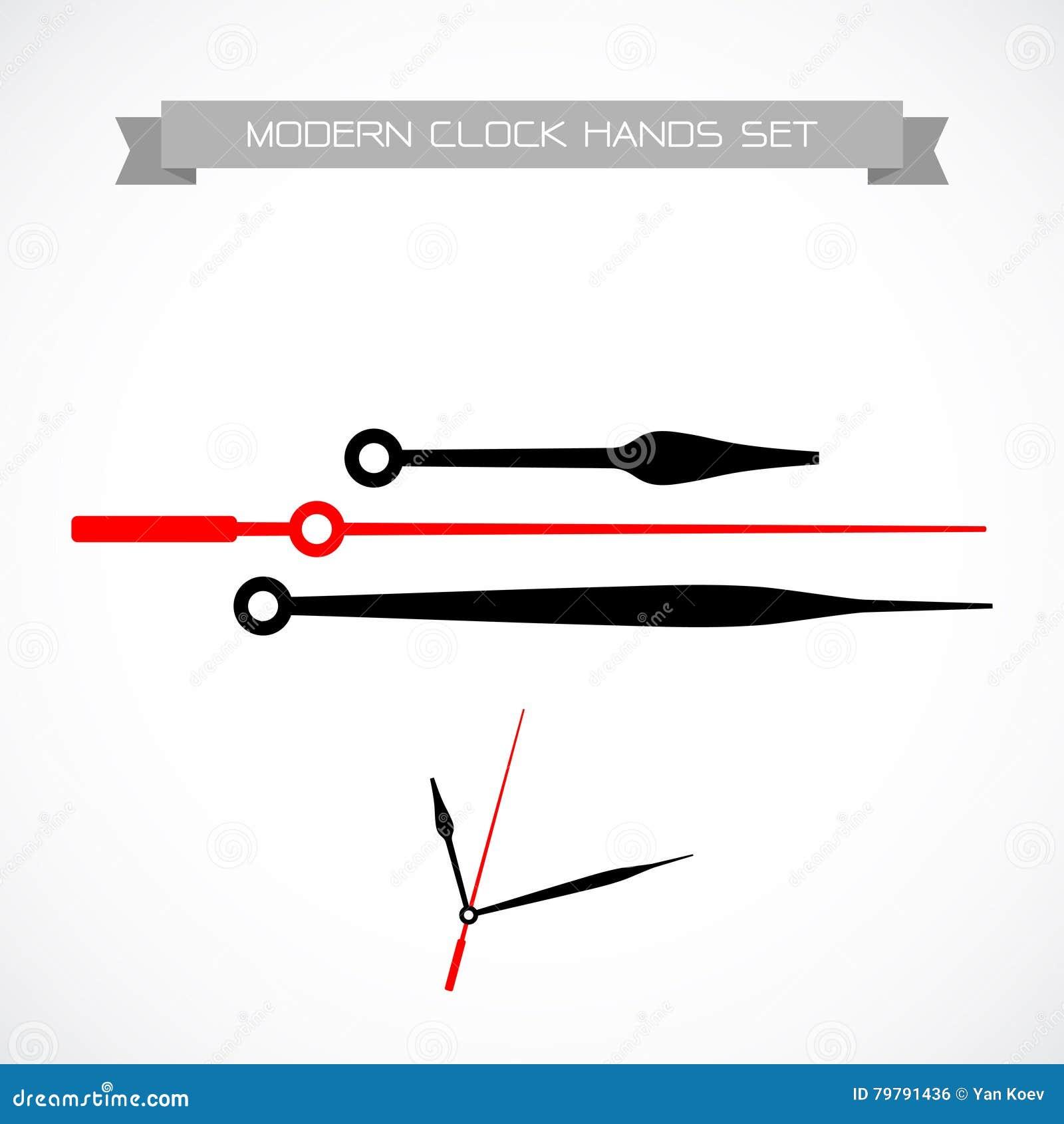 clock hands vector free download