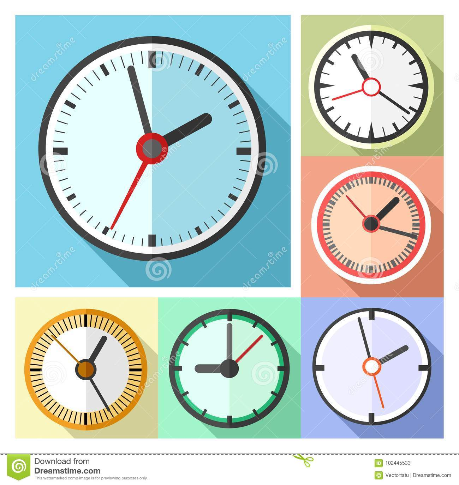 wall clocks for office. Office Wall Clocks. Modern Clocks Icon Set W For