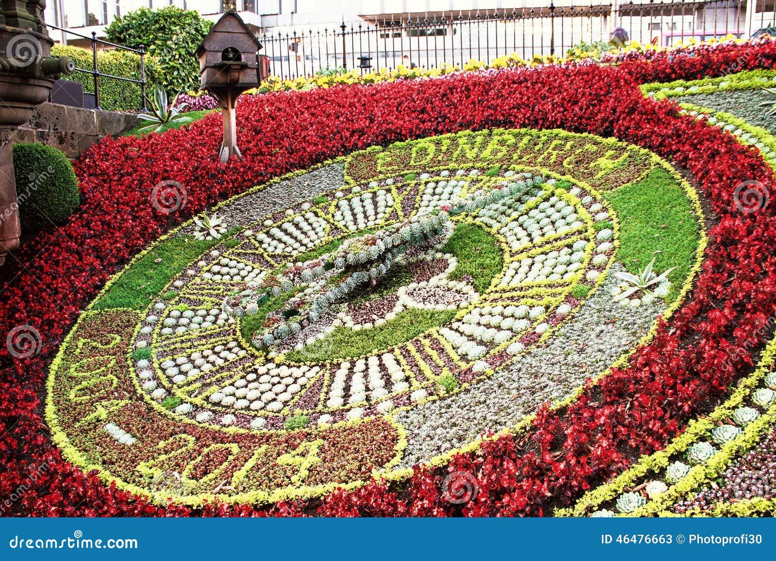 Flowers And Clock Stock Photography Cartoondealer Com
