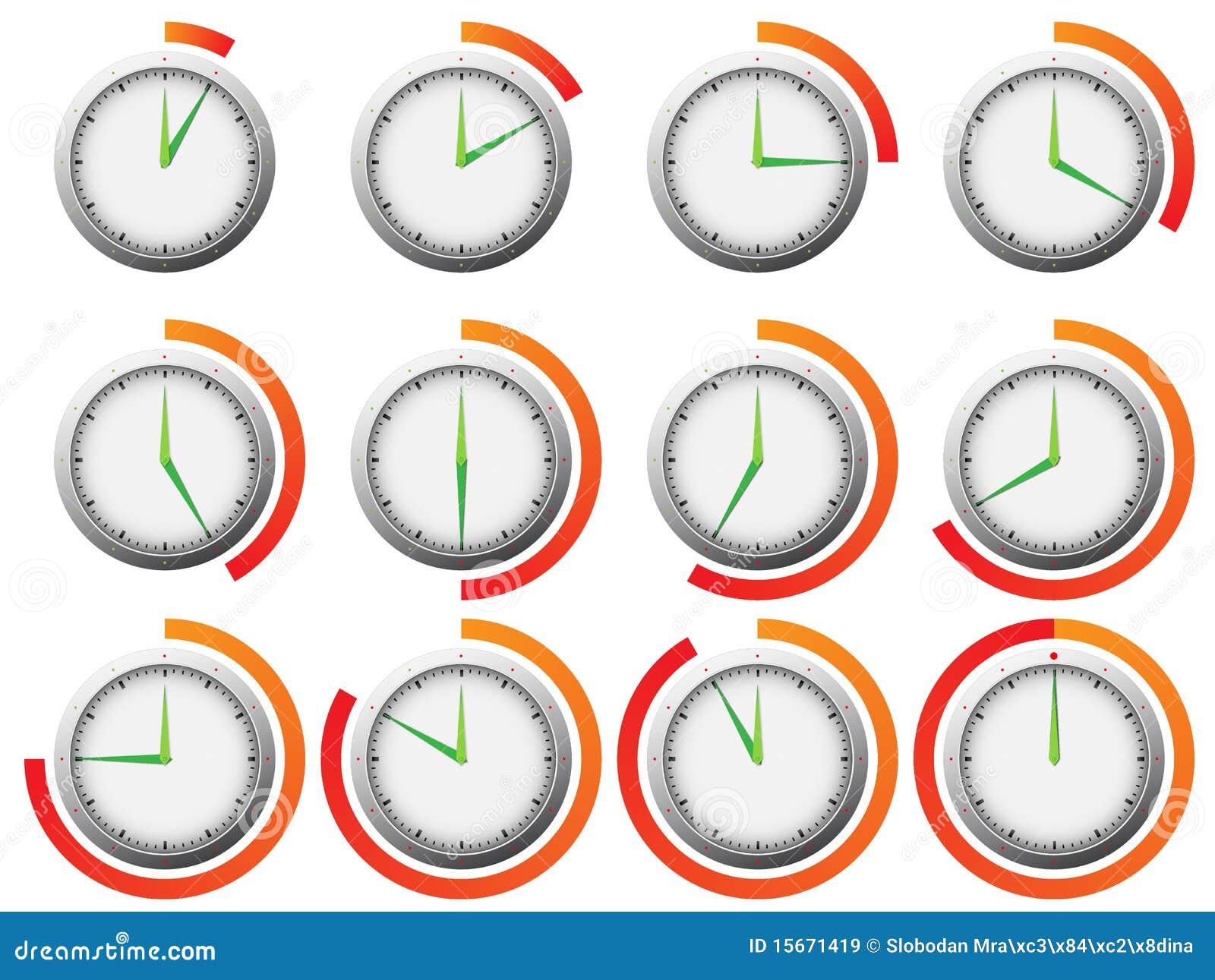 clock timer royalty free stock images image 15671419. Black Bedroom Furniture Sets. Home Design Ideas