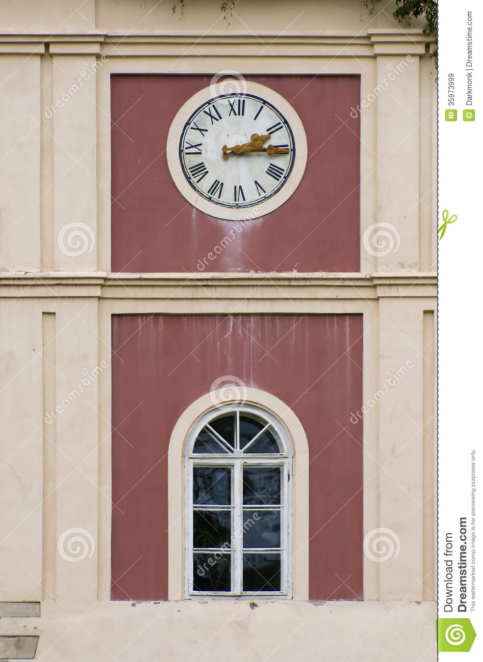 Clock On Tower Royalty Free Stock Images Image 35973999