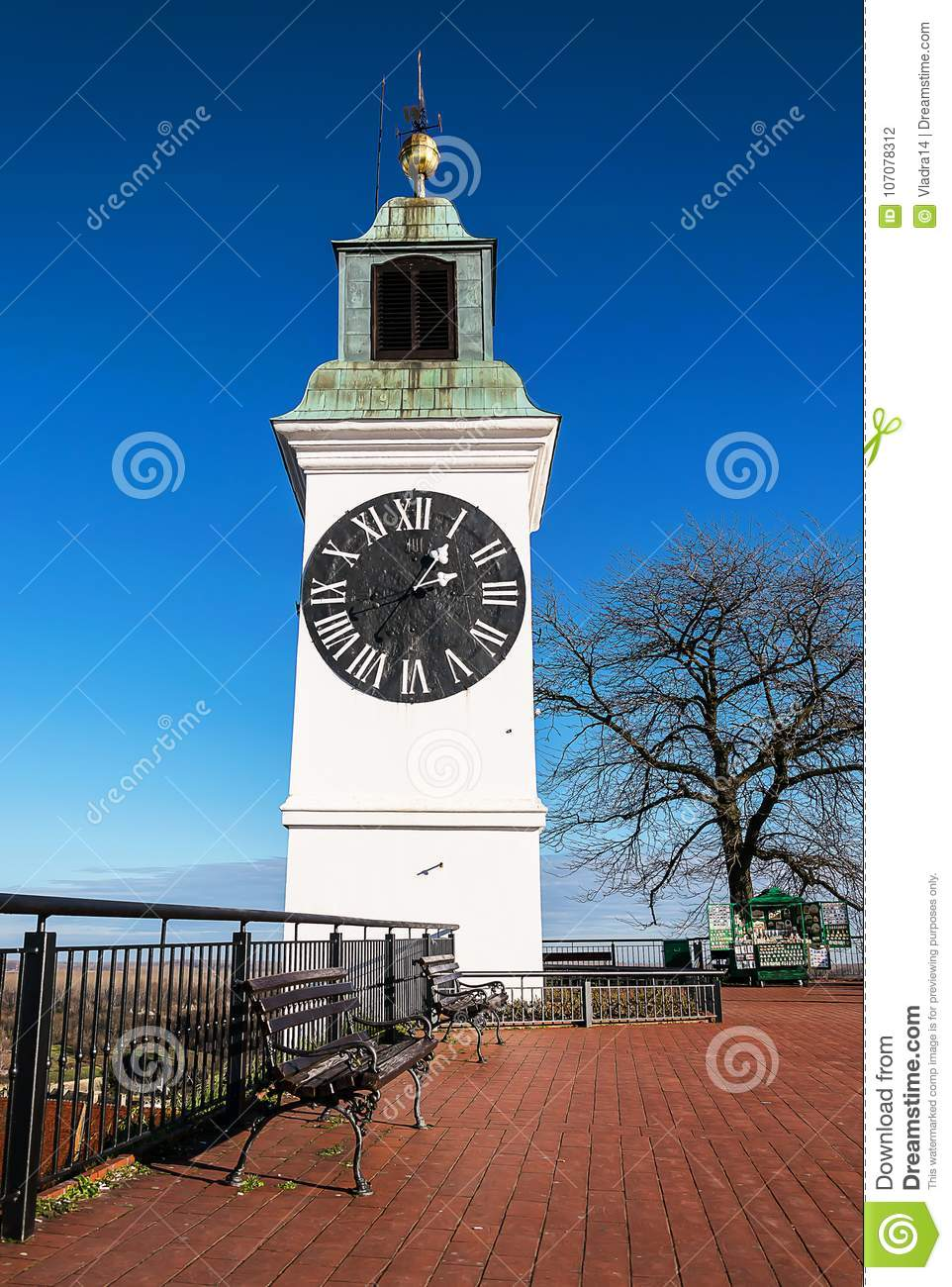 Clock Tower on the Petrovaradin fortress