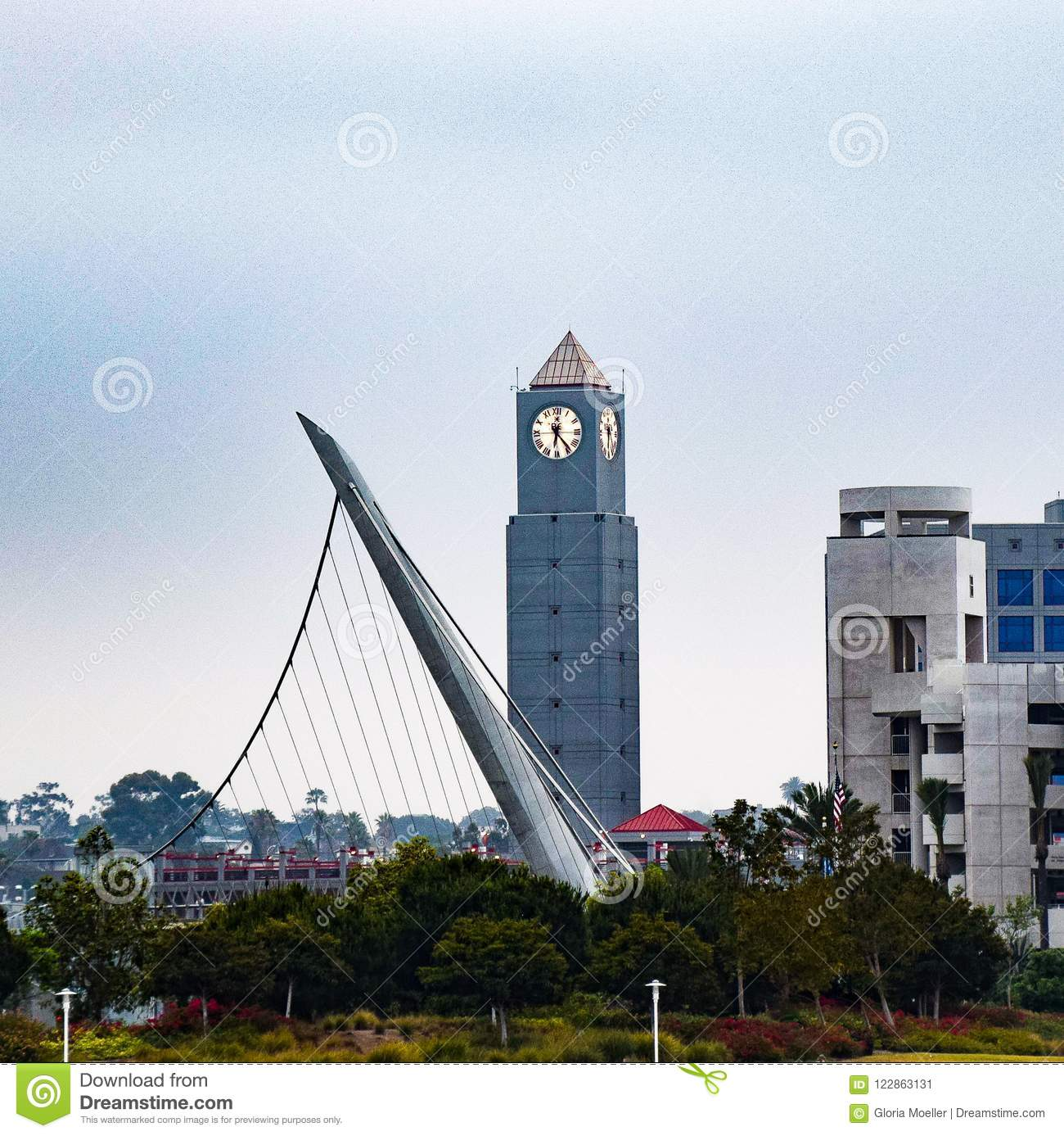 Clock Tower in San Diego