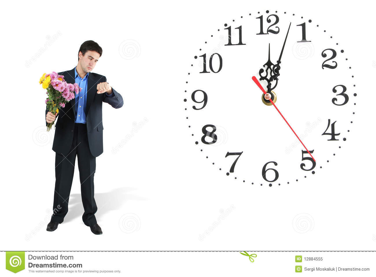 Waiting With Clock Clipart Images & Pictures - Becuo