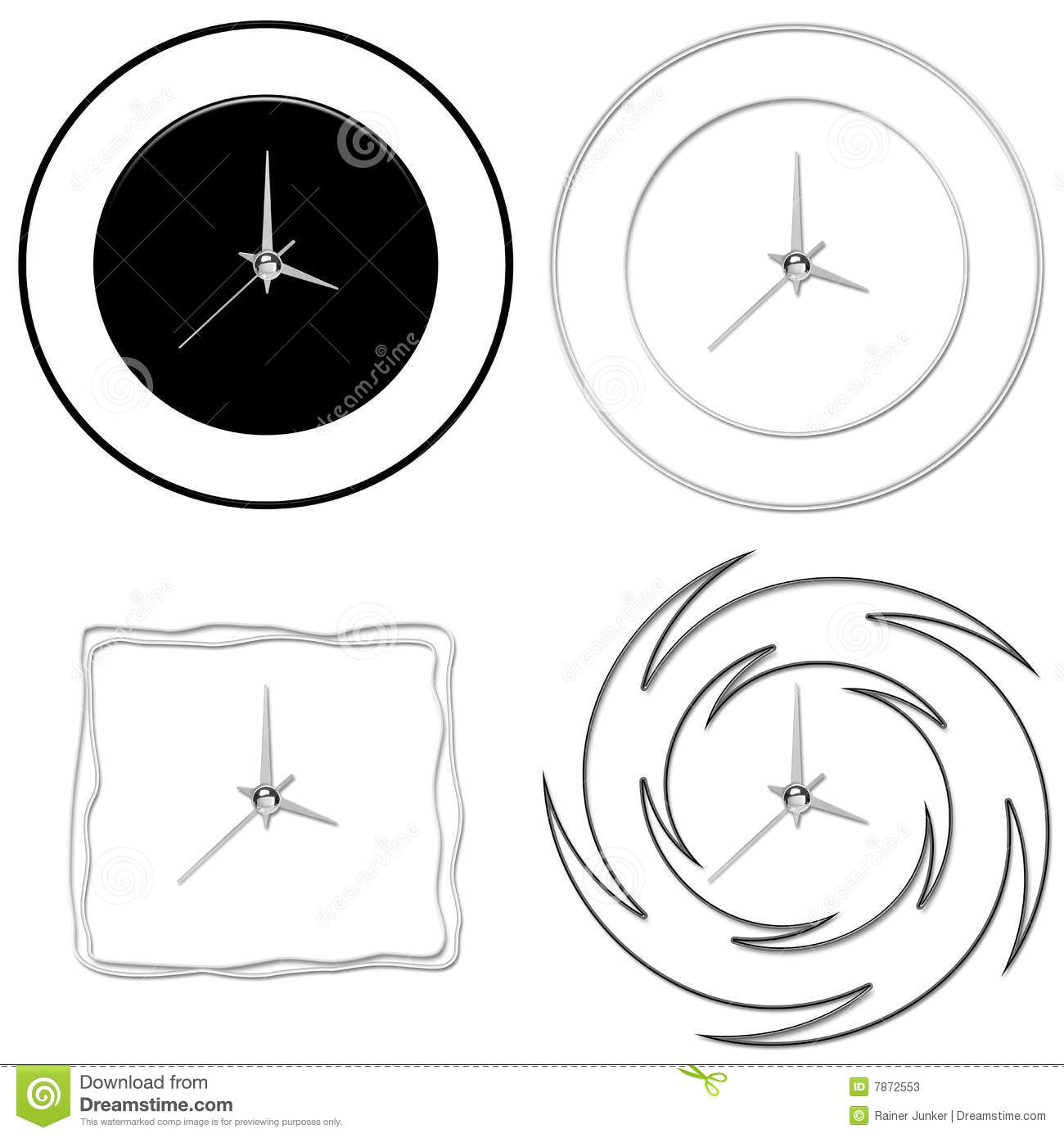 Clocks Stock Photos Image 7872553