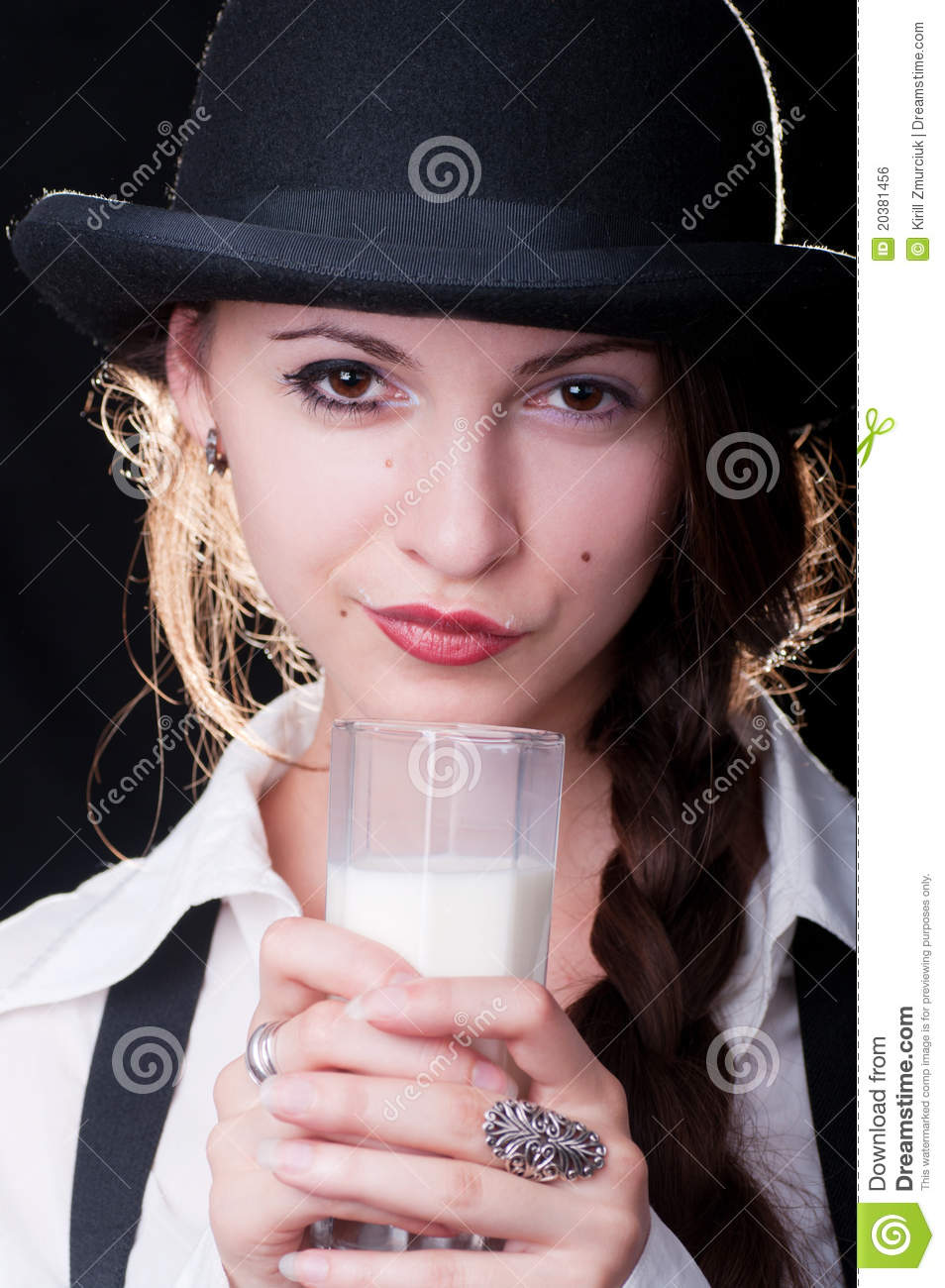 clockwork orange milk girl