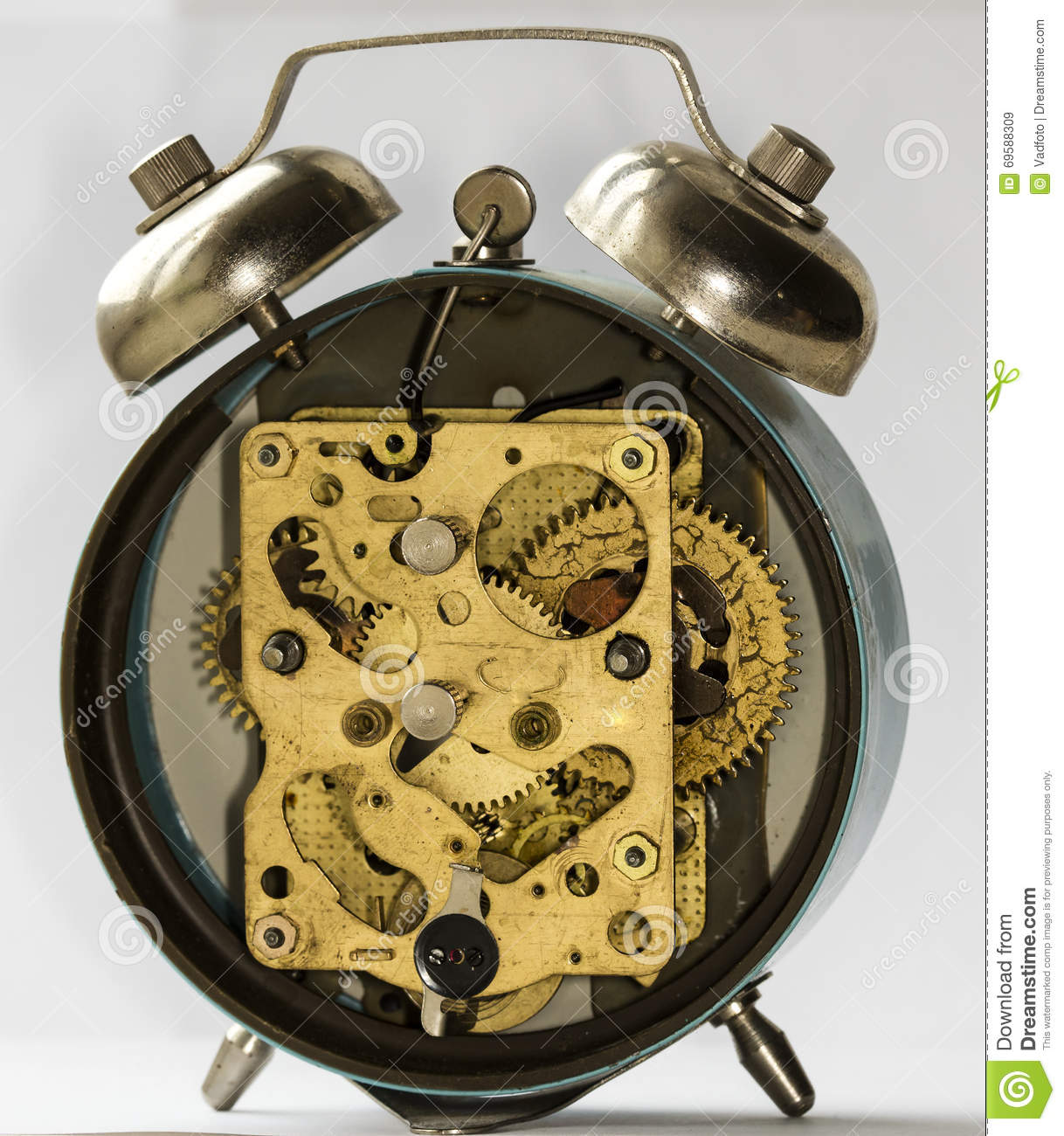 Alarm clock vintage can not