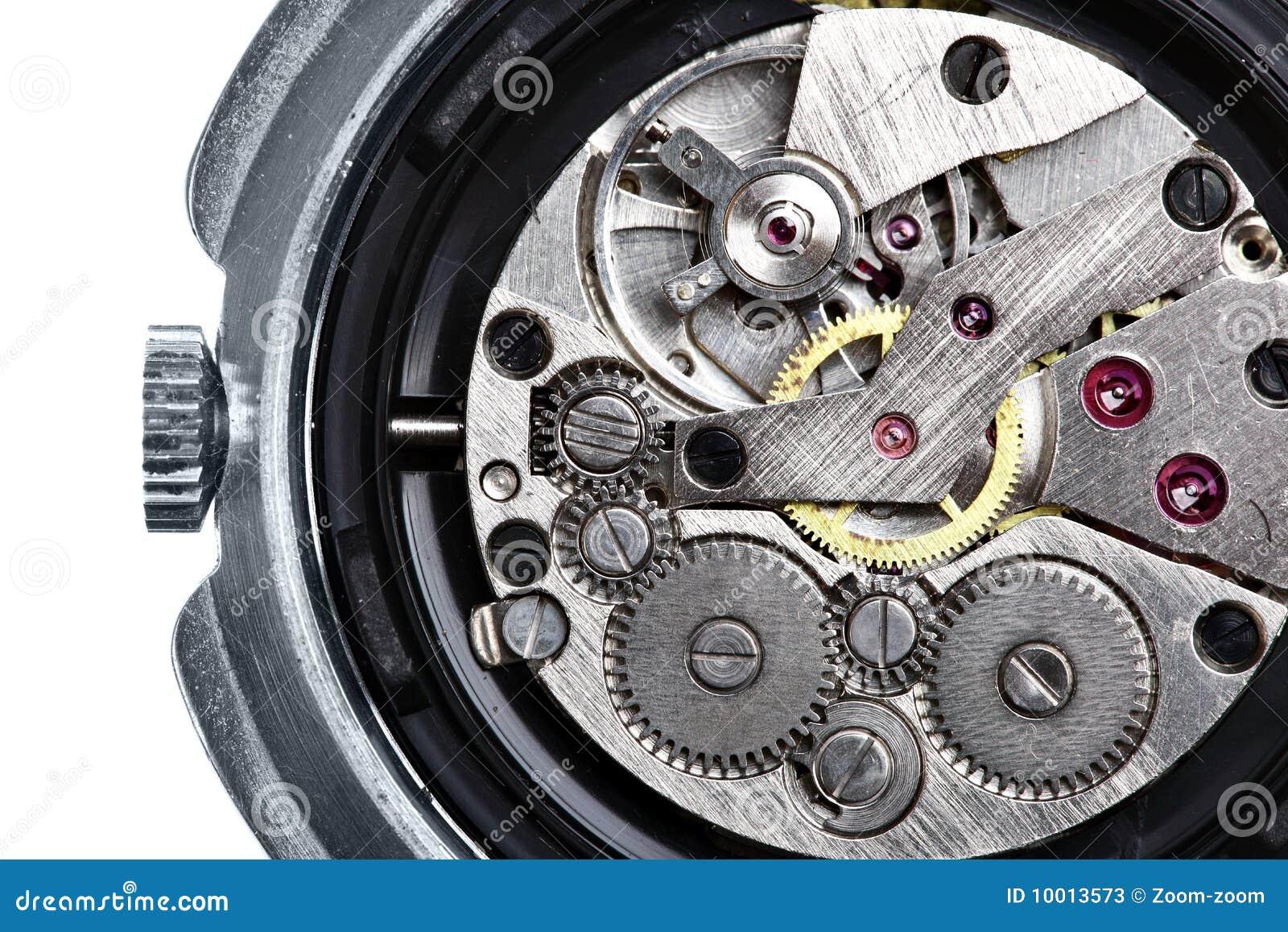 Clockwork wristwatch
