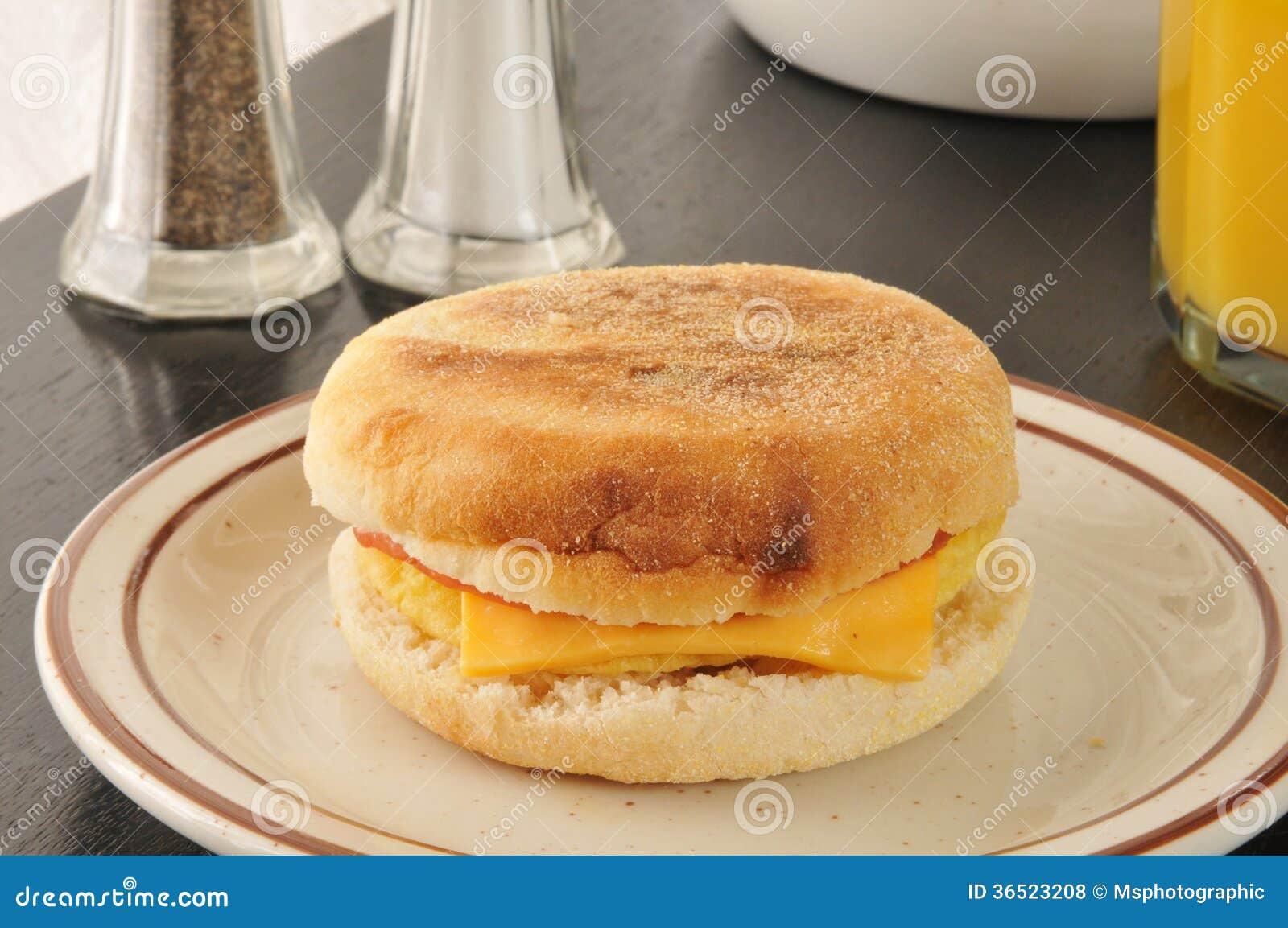 Cloesup de petit pain de petit déjeuner