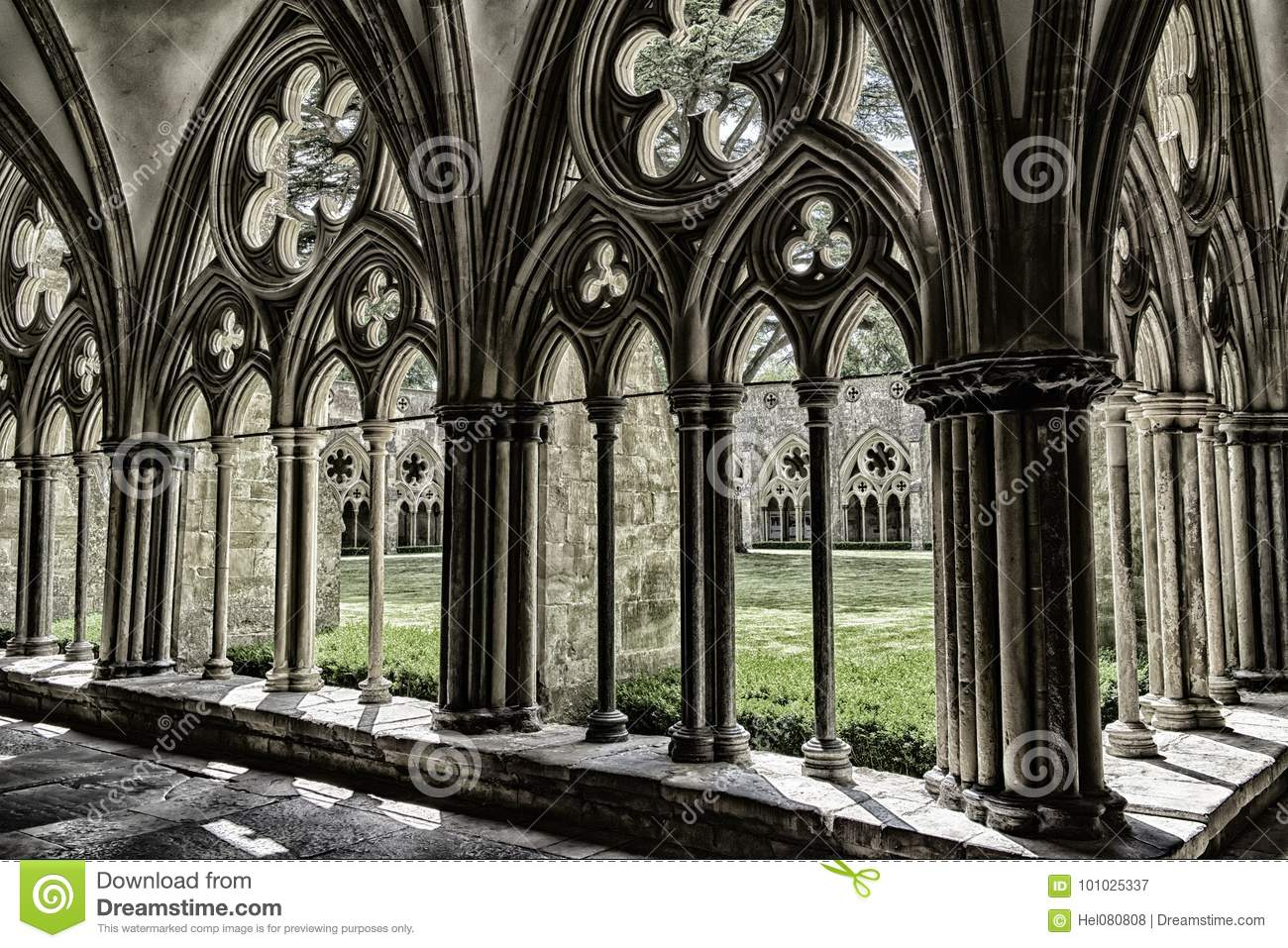 Cloister Salisbury Cathedral