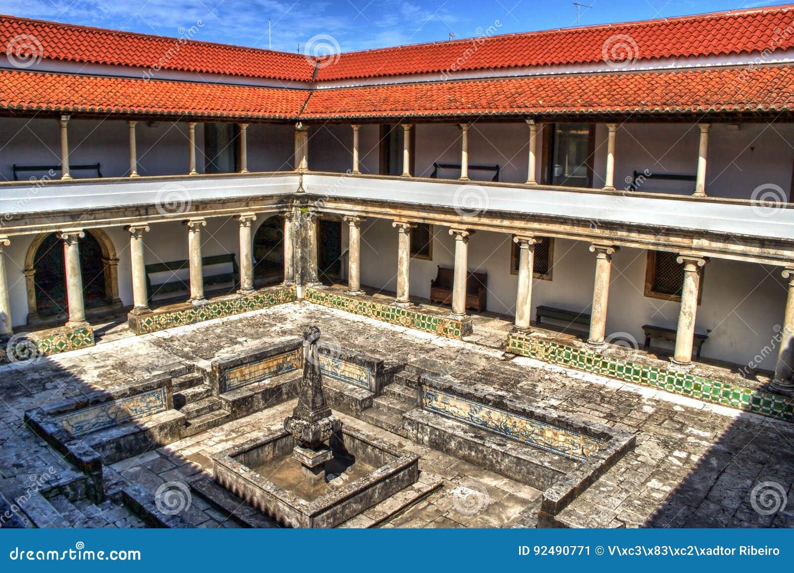 Cloister monastery of Jesus in Aveiro