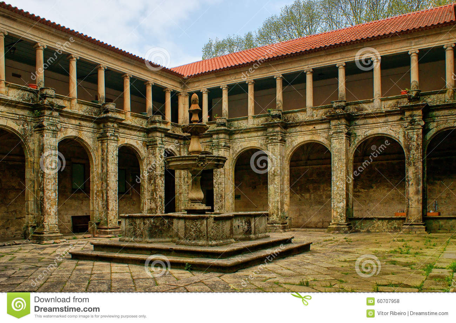 Cloister of Sao Goncalo monastery