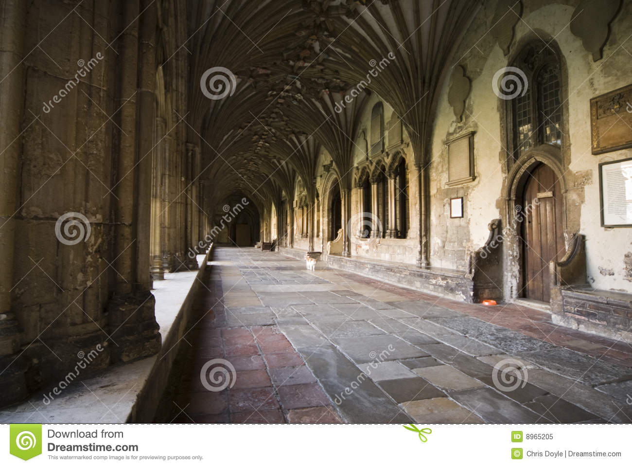 Cloisters at Canterbury Cathedral