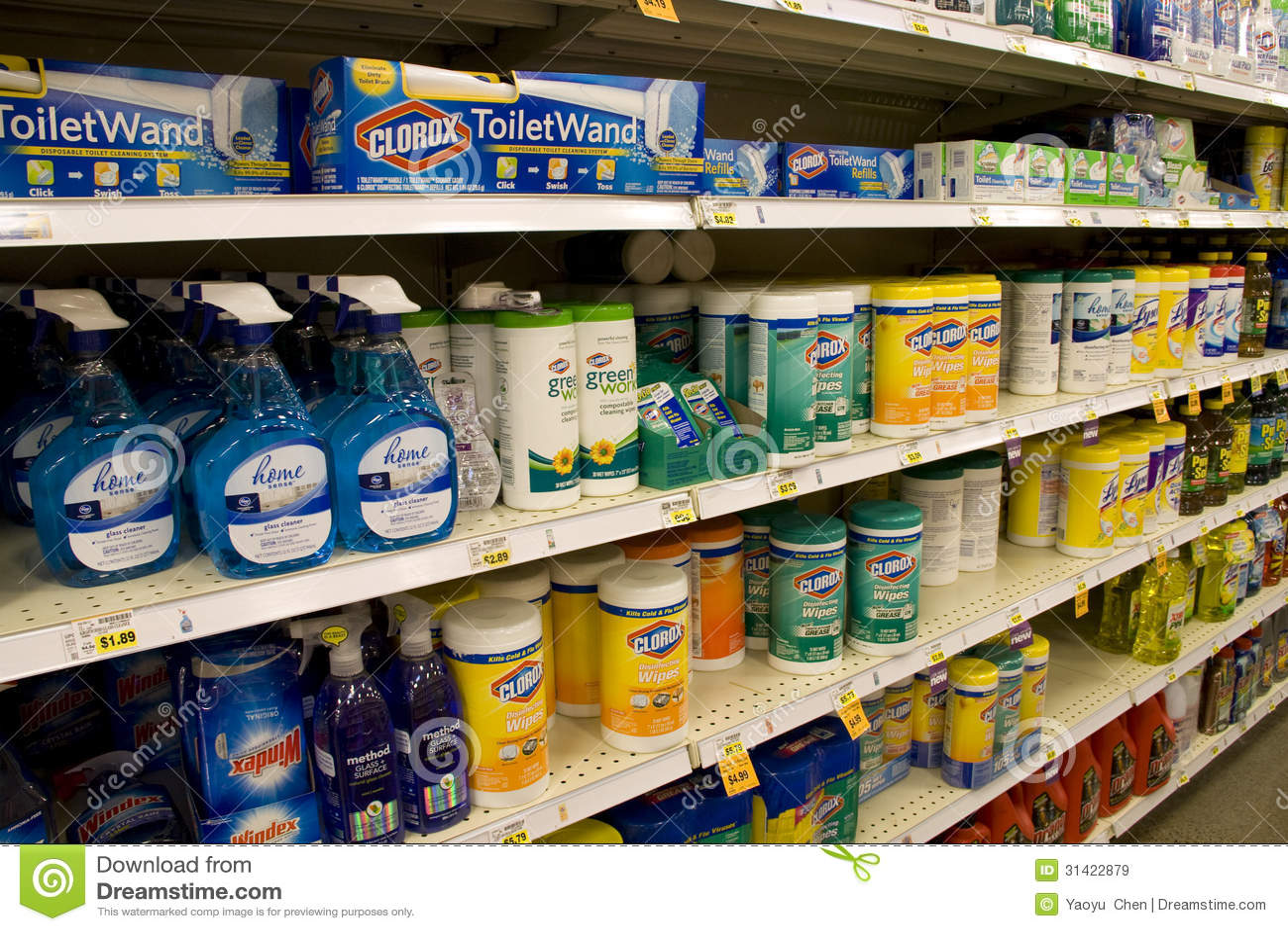 Clorox抹清洁产品