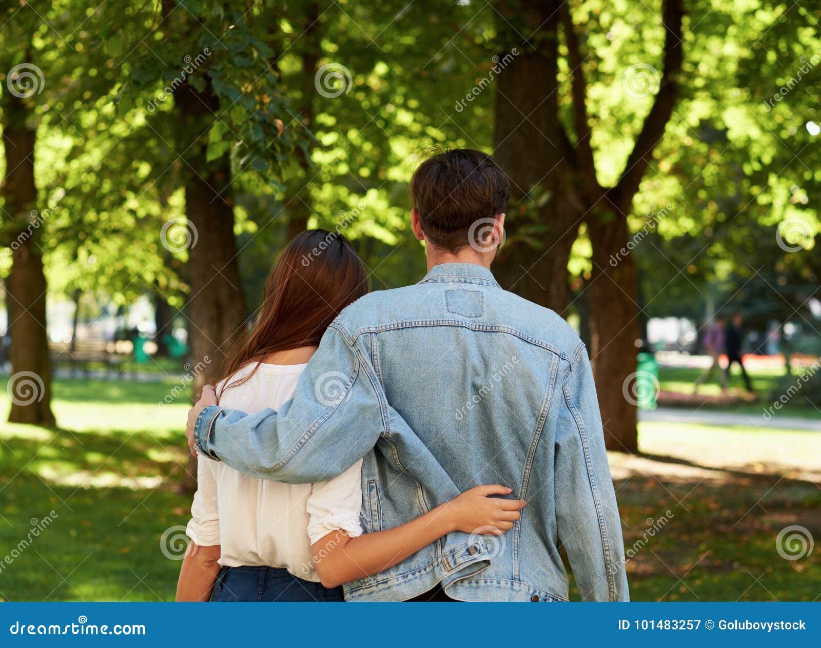 Close Romantic Relationship  Summer Love Stock Image - Image