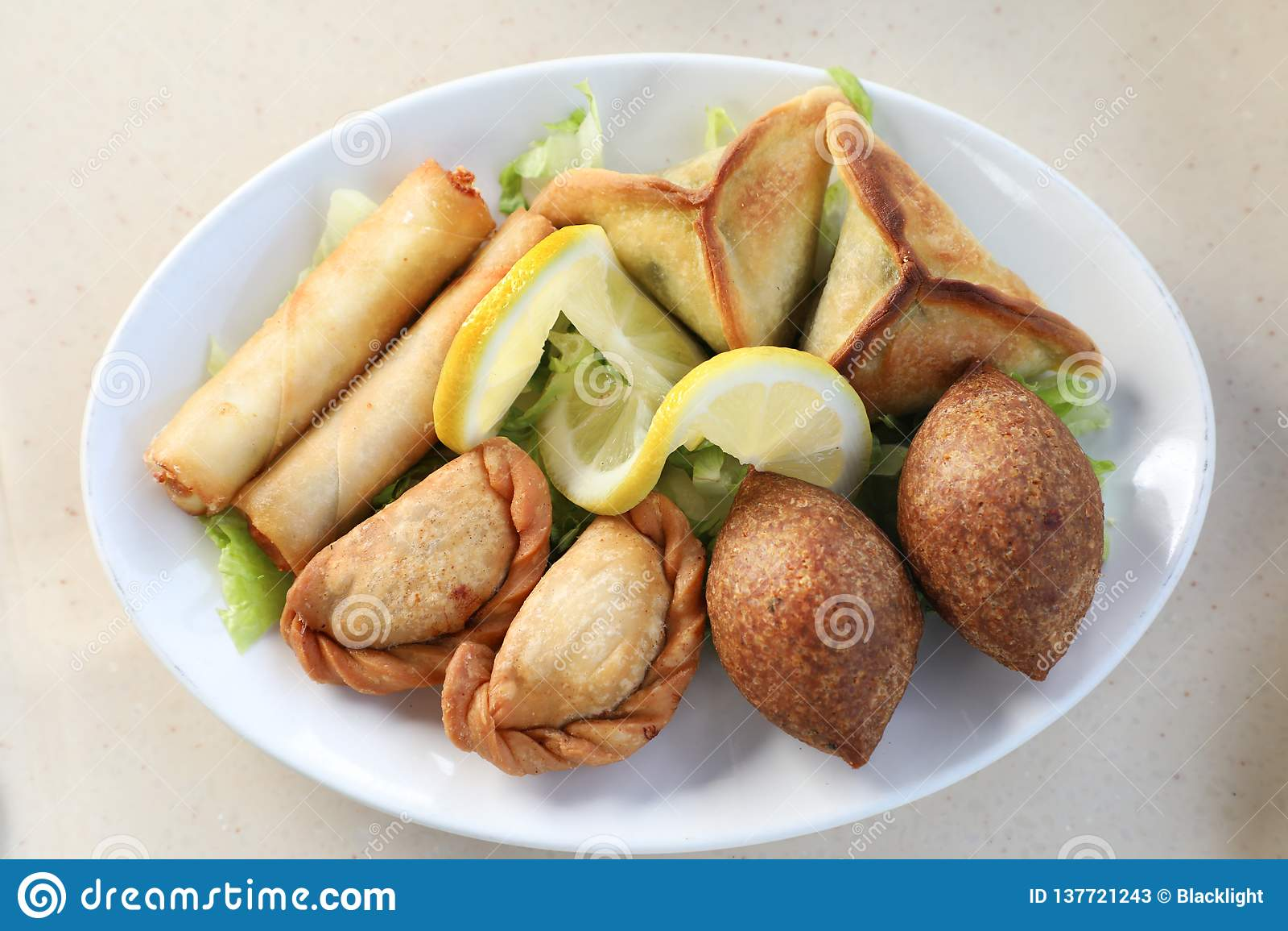 Arabic Food stock image  Image of east, menu, lebanese - 137721243