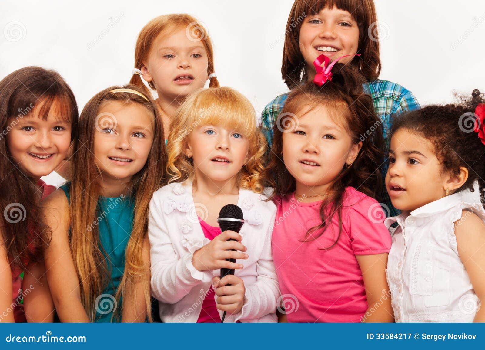 kids singing stock photos download 1 341 images