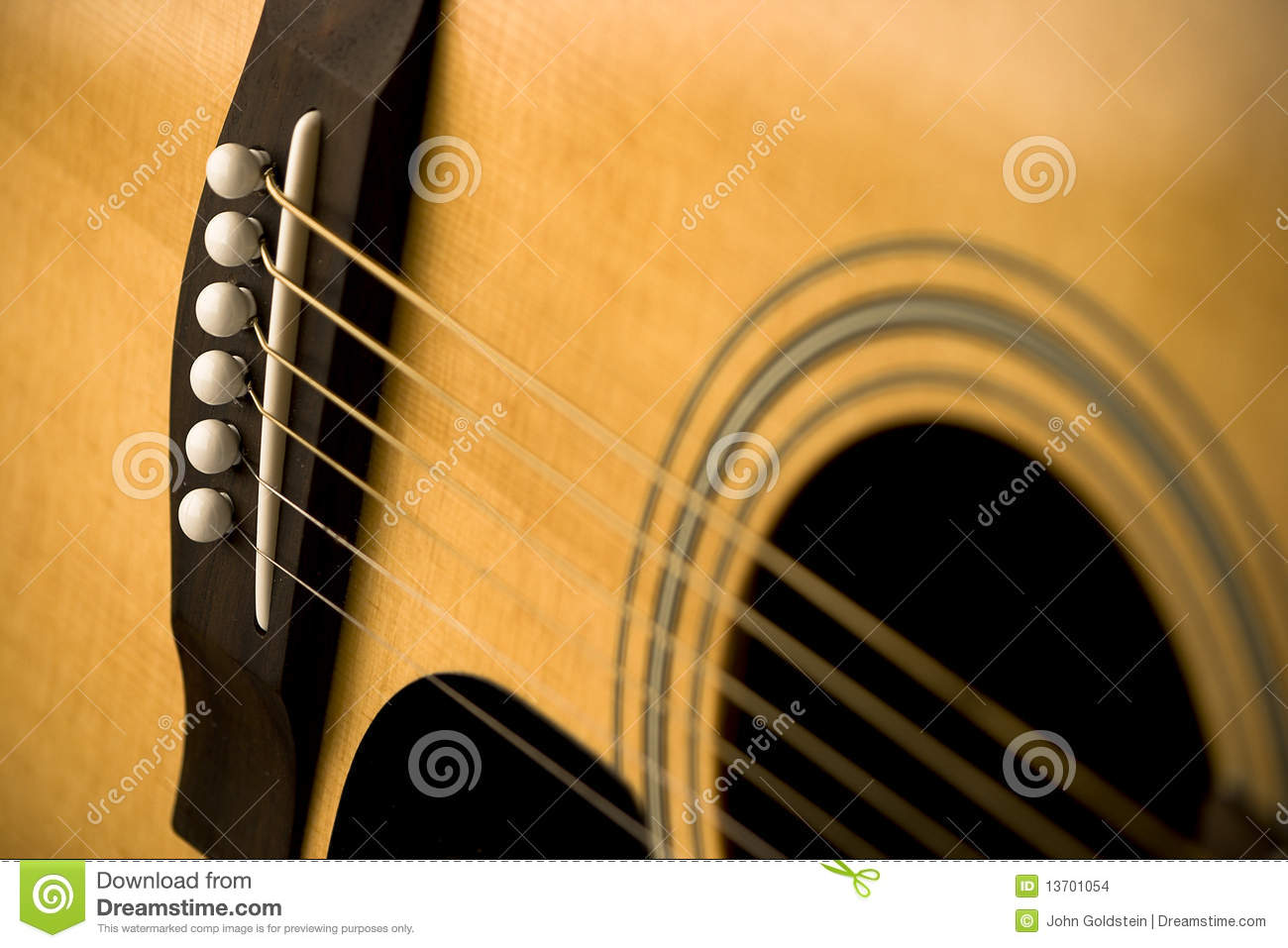 close up of acoustic guitar and strings stock photo image of music guitar 13701054. Black Bedroom Furniture Sets. Home Design Ideas