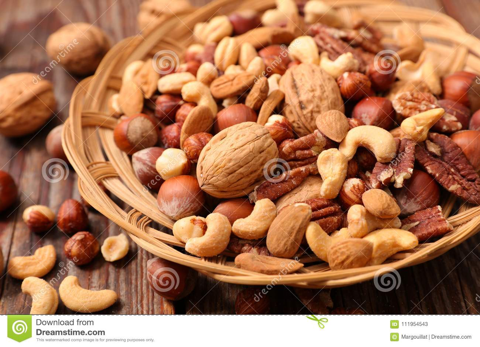 Assorted nut fruit