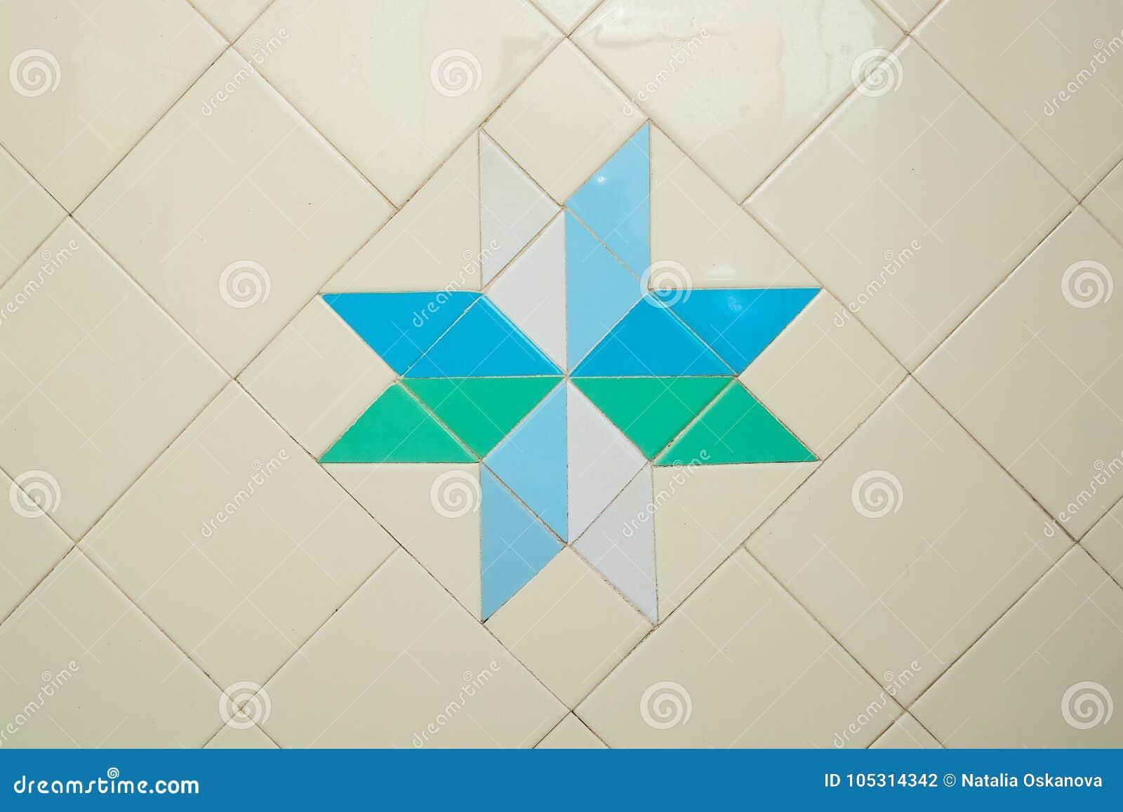 White Bathroom Tiles Texture Background Stock Photo - Image of ...