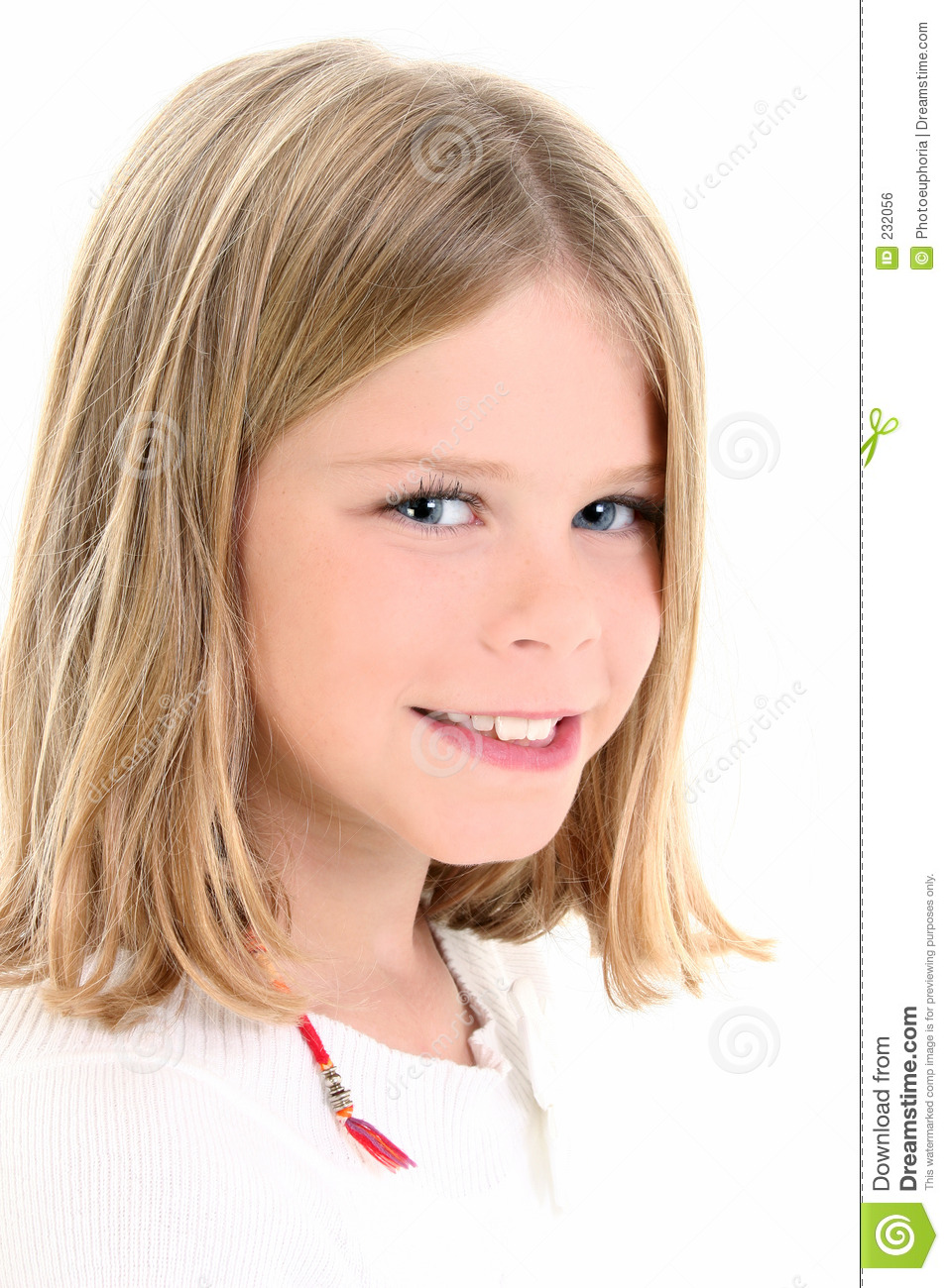 stock images of ` Close Up of Beautiful 10 Year Old American Girl