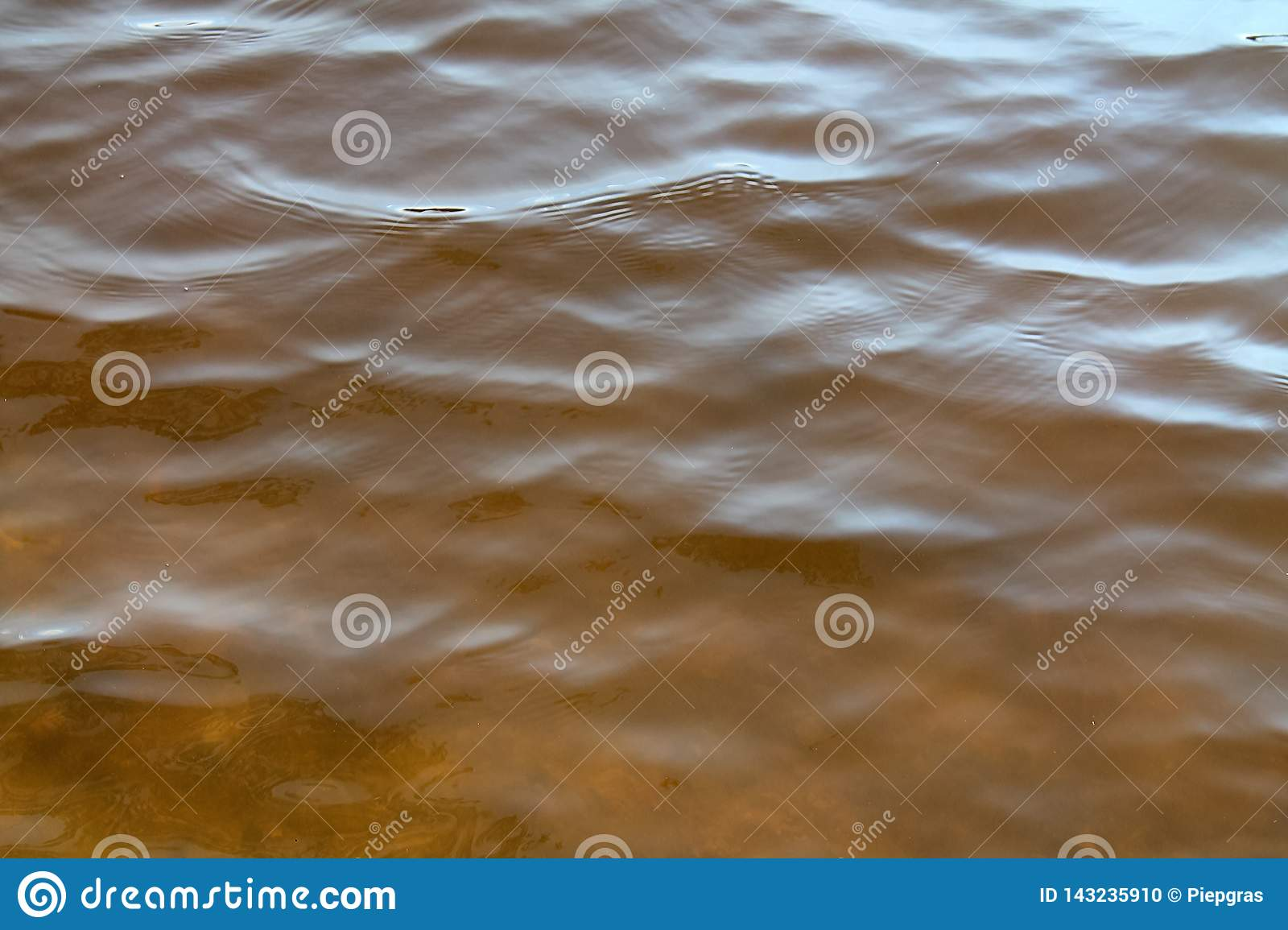 Close up of beautiful water surfaces of a lakes and the baltic sea