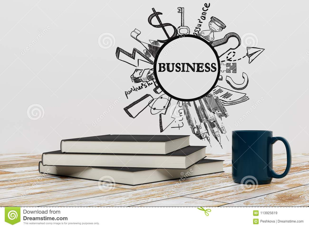 Education And Leadership Concept Stock Illustration