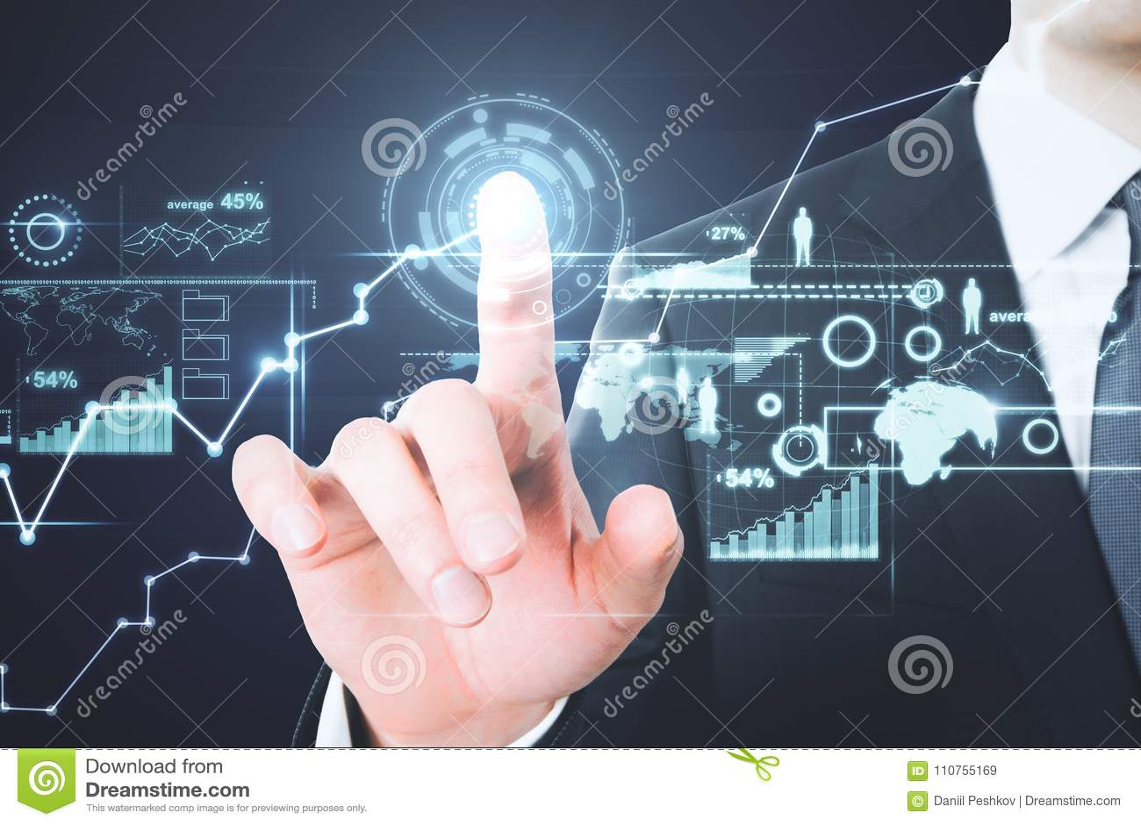 Future and analytics concept
