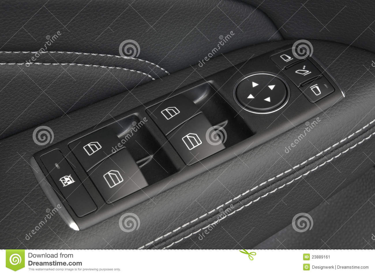 Royalty-Free Stock Photo & Close Up Of A Car Door Control Panel Buttons Stock Image - Image ... Pezcame.Com