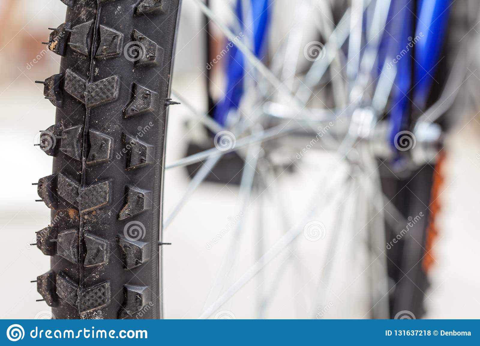 Chain and sprocket of bicycle