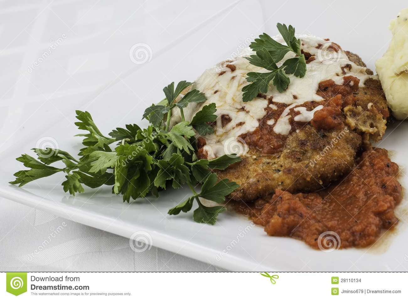 Close up chicken parmesan stock images image 28110134 for Chicken chicken parmesan desiigner