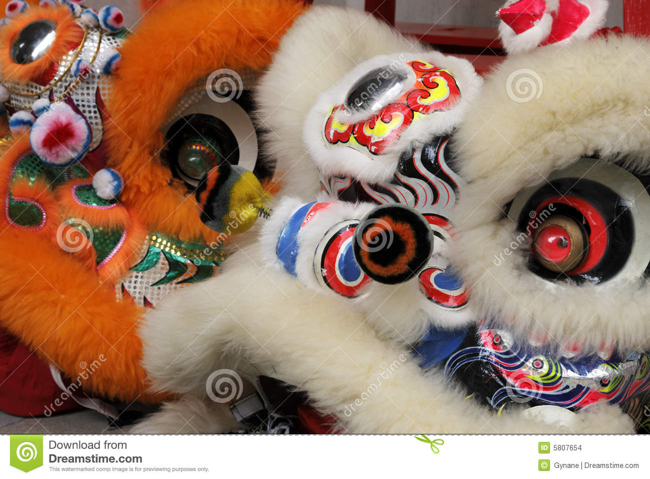 Download Close Up Of A Chinese Dragon Head Costume Stock Photo - Image of vibrant, dragon: 5807654