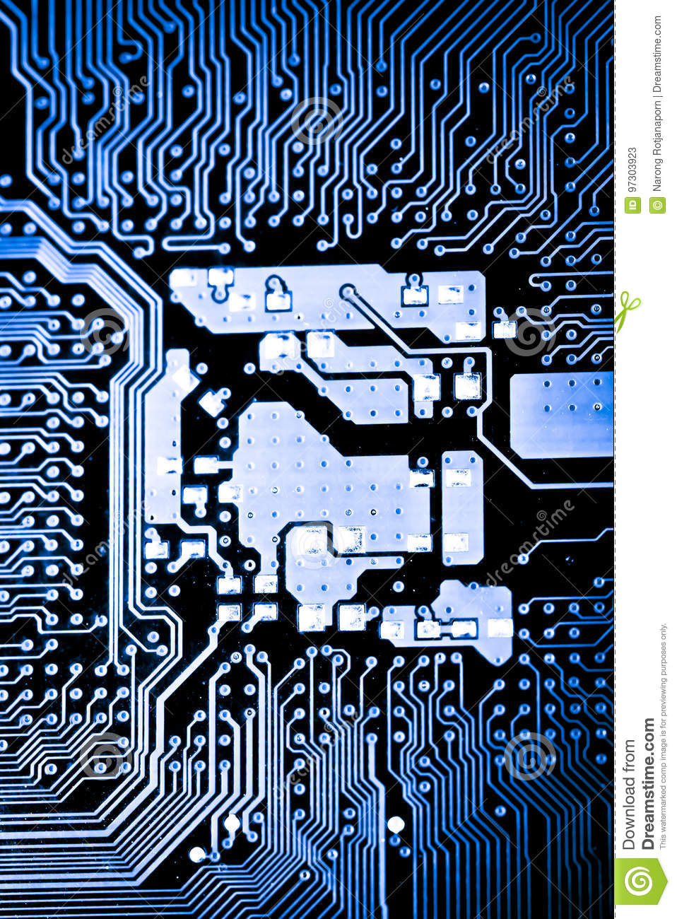 Close Up Of Circuits Electronic On Mainboard Technology Computer Circuit And Logic Design Abstract Background Boardcpu Motherboardmain Boardsystem Boardmobo