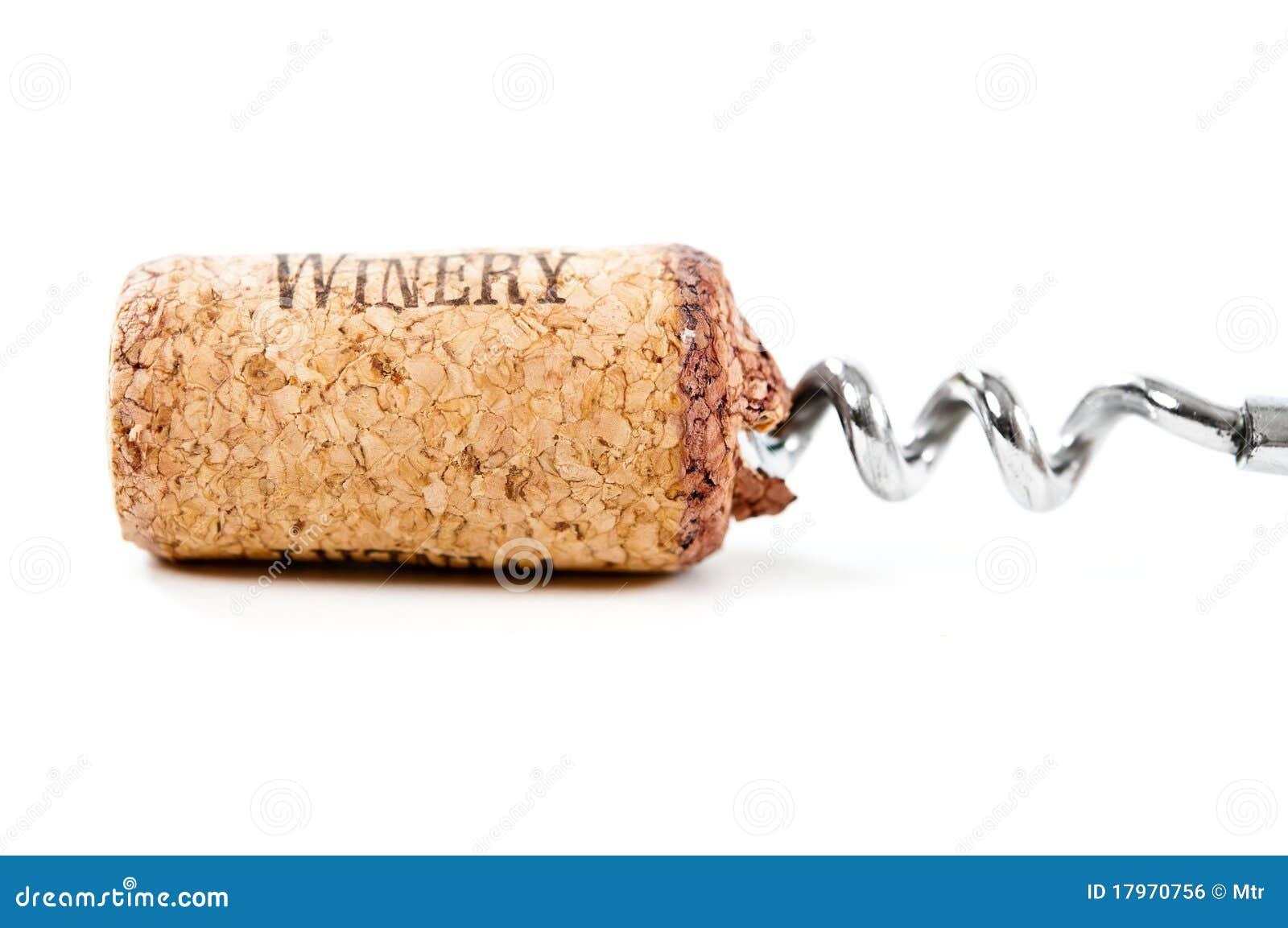 Close up of cork