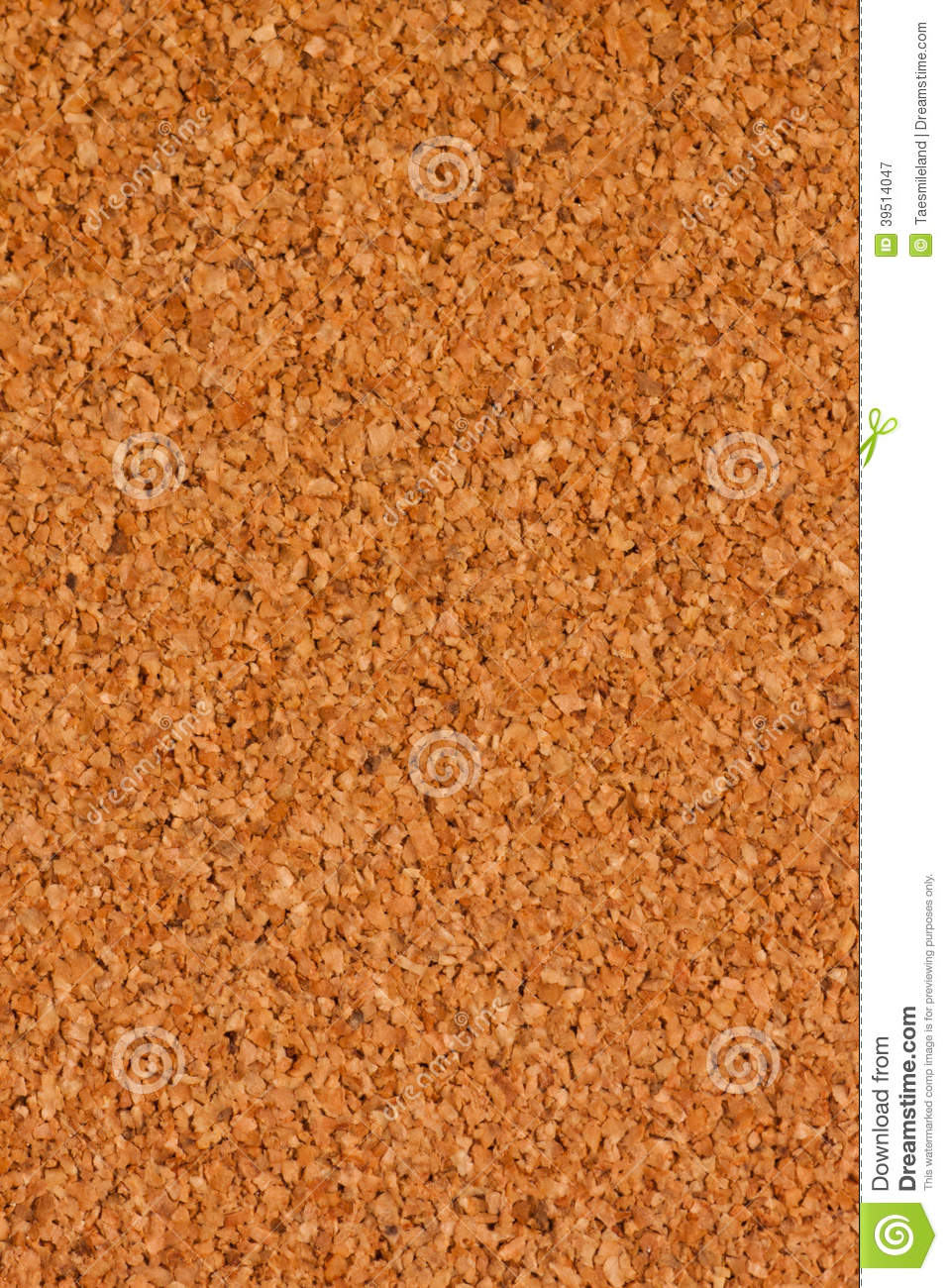 Close up of corkboard background