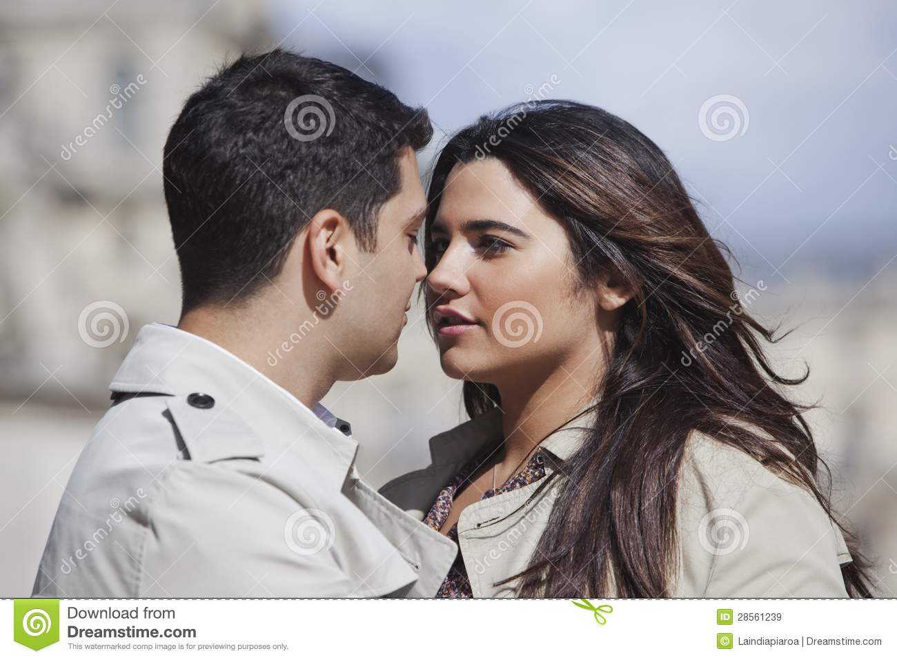 close up of a couple romancing stock image image of close