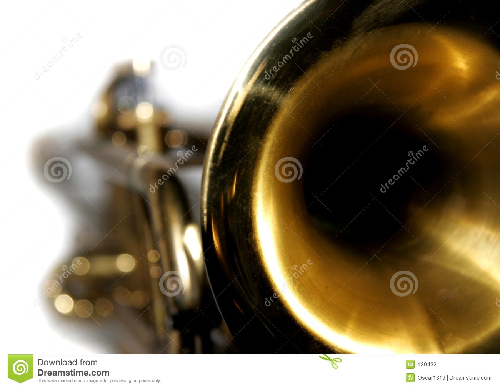 Close up da trombeta