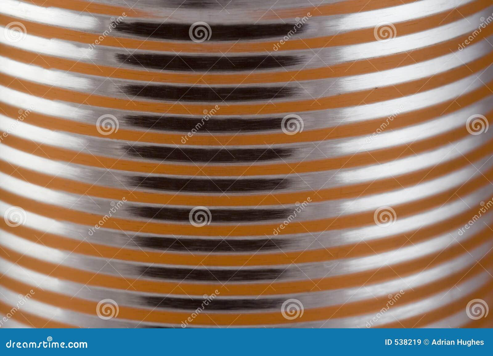 Close up de uma lata