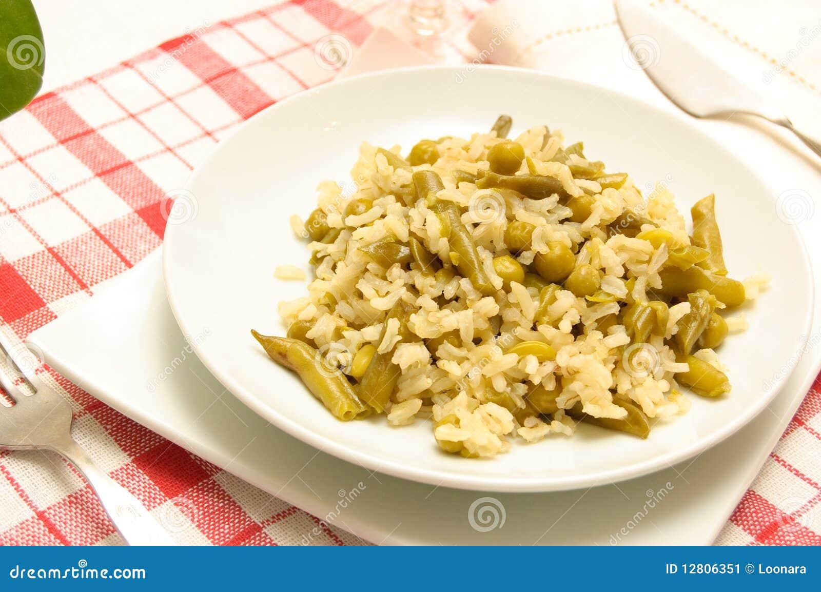 Close-up de uma refeição do vegetariano