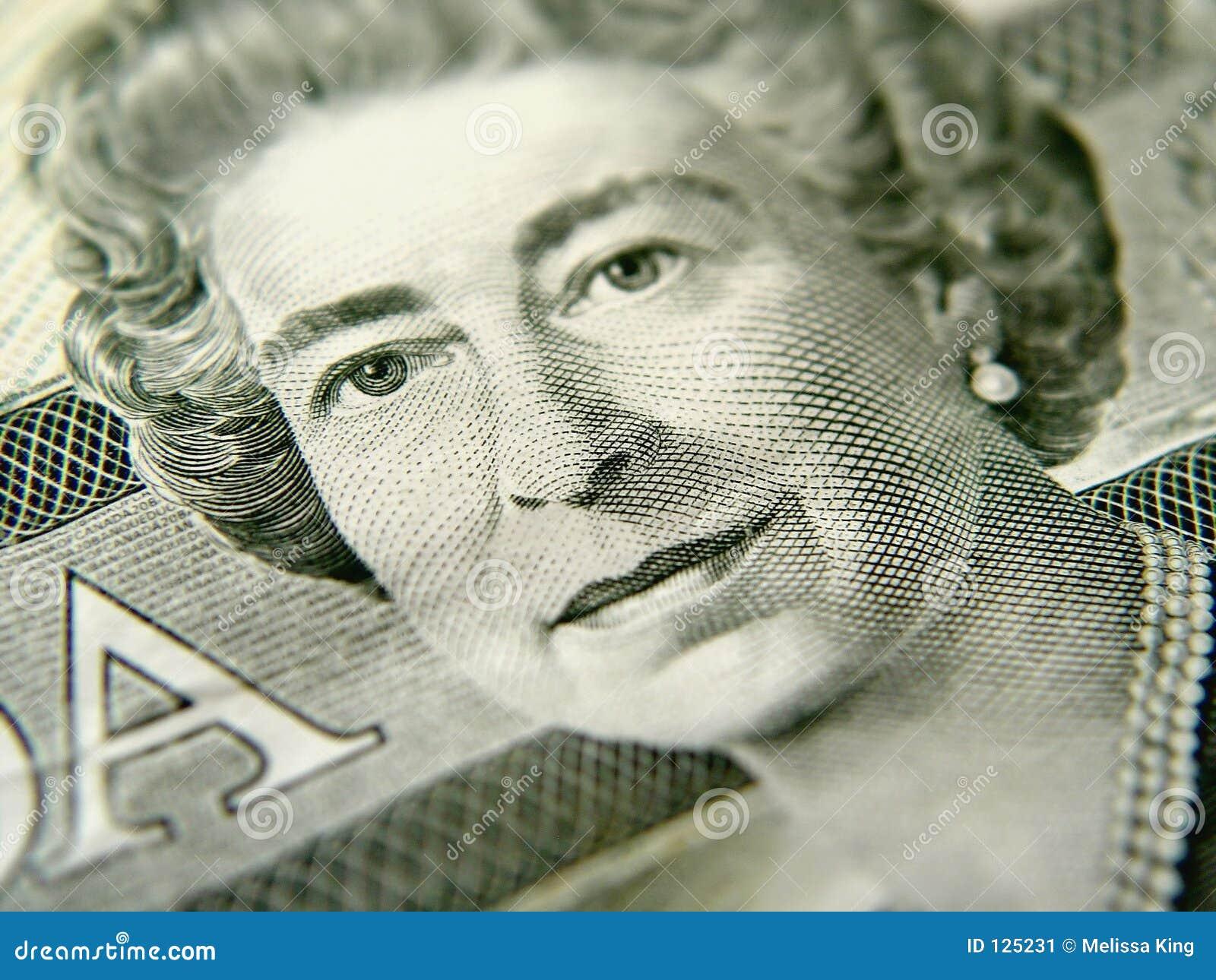 Close up de vinte dólares Bill
