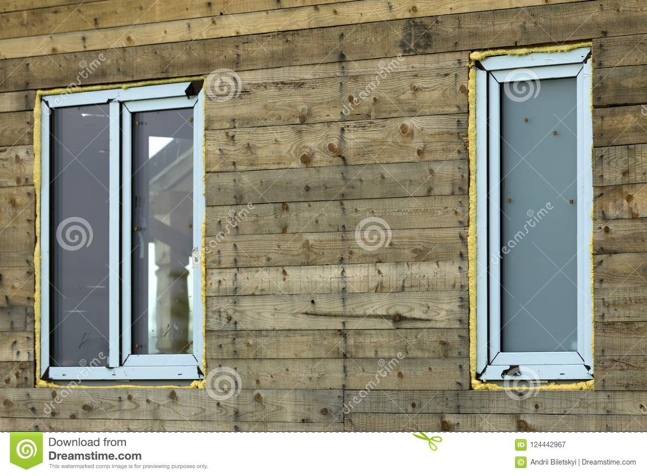 Installing plastic windows in a wooden house do it yourself 18