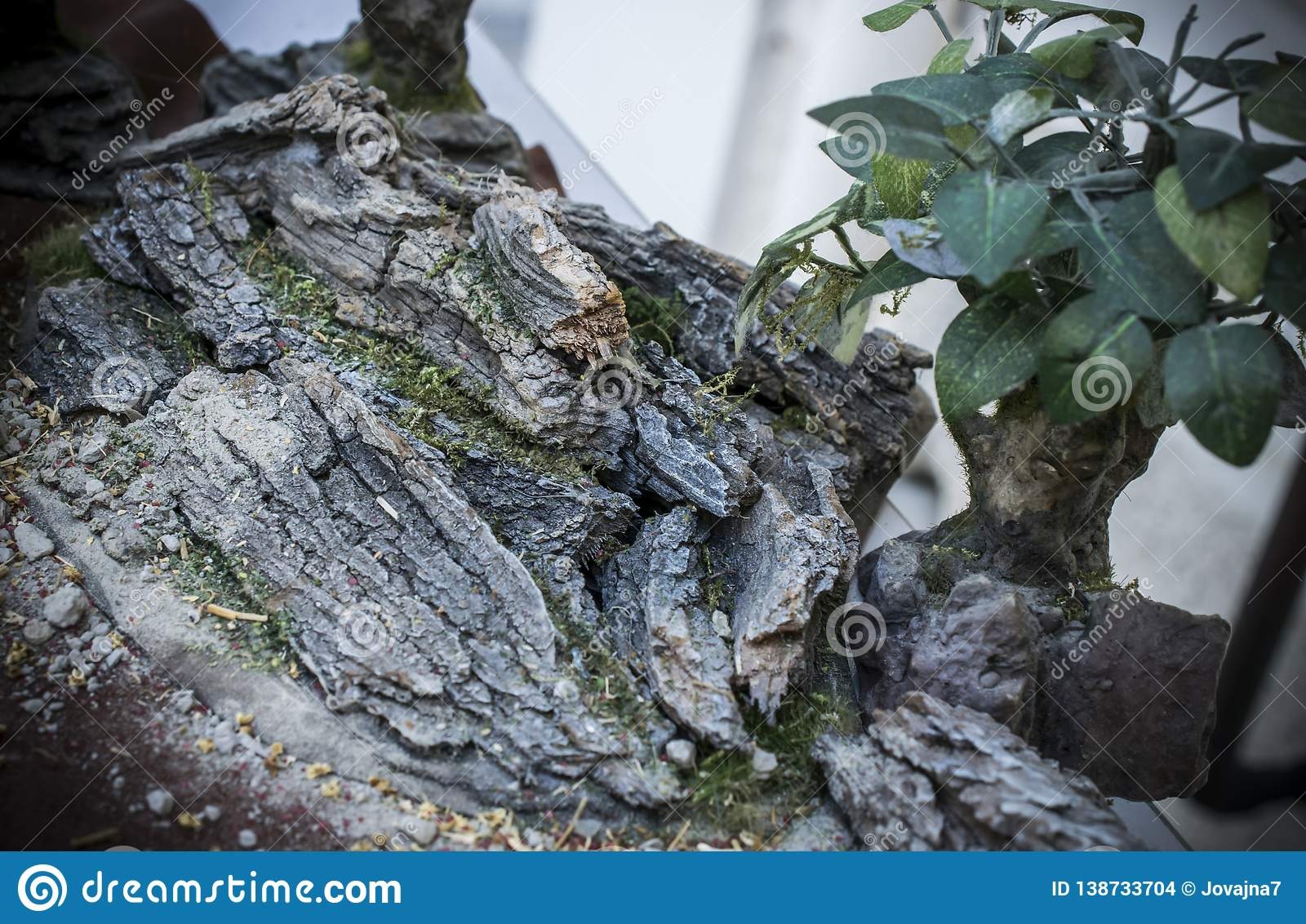 Close-up Of Details Of Wargaming Terrain Stock Photo - Image of