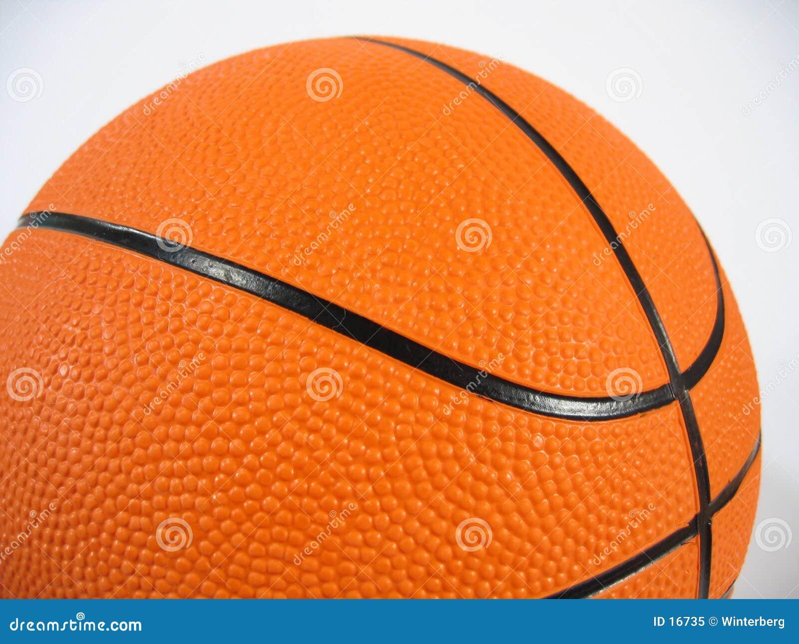 Close-up do basquetebol