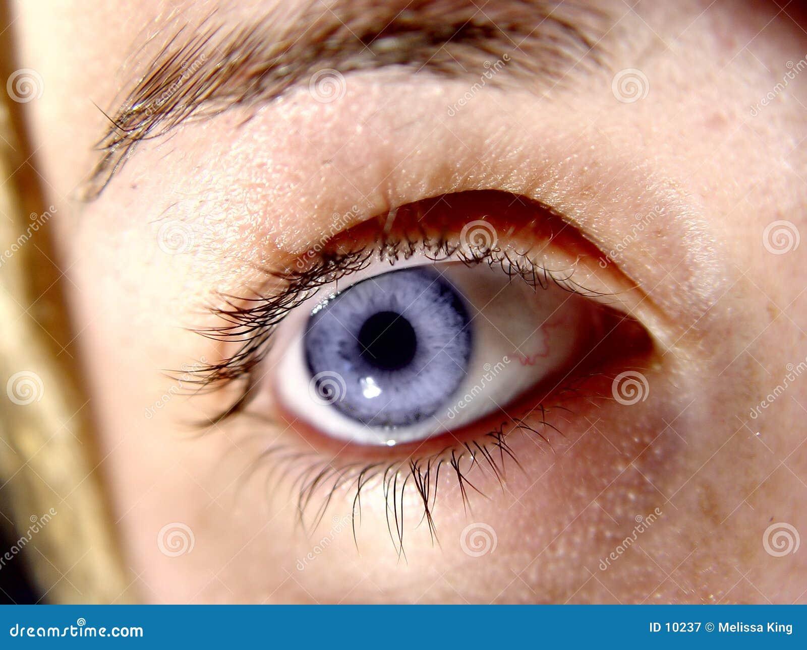 Close up do olho