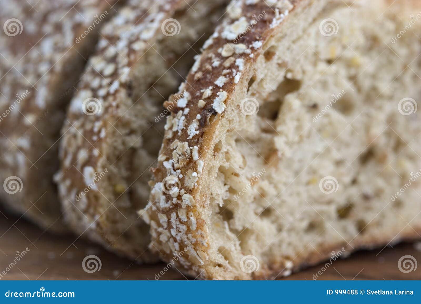 Close-up do pão