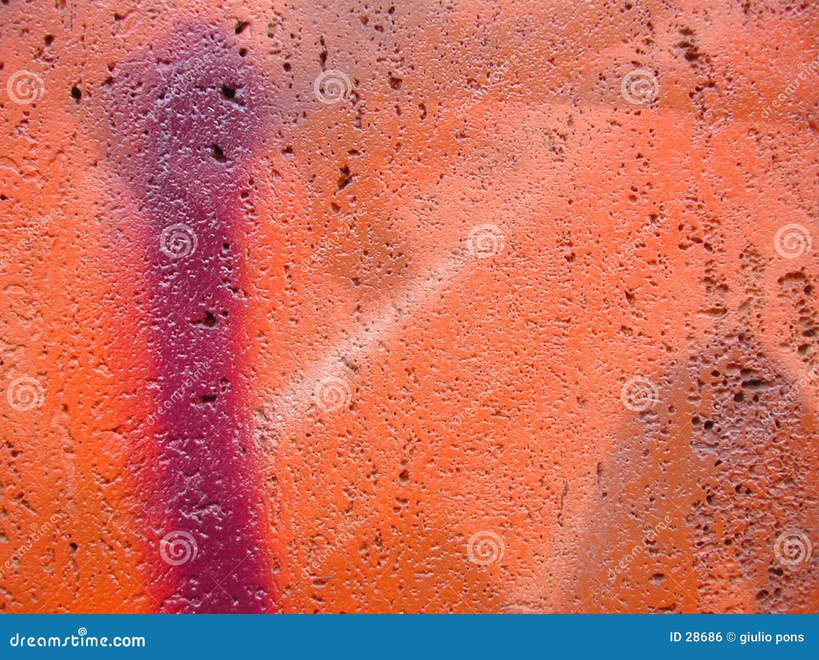 Close-up dos grafittis